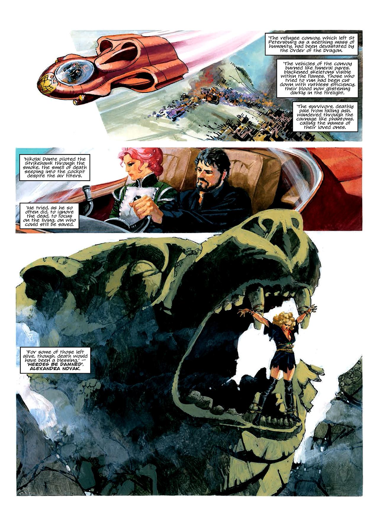 Read online Nikolai Dante comic -  Issue # TPB 10 - 43
