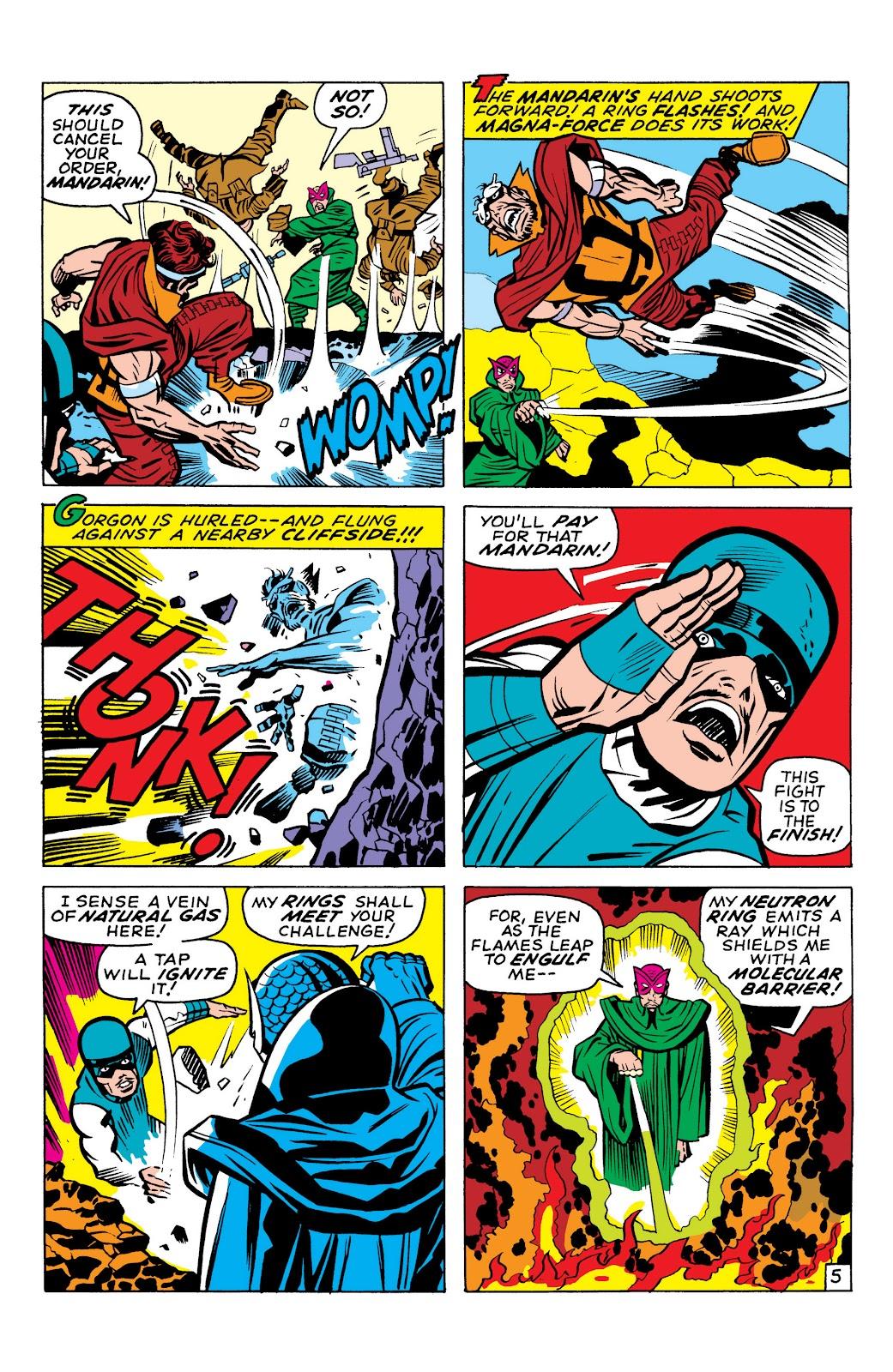Read online Marvel Masterworks: The Inhumans comic -  Issue # TPB 1 (Part 1) - 96
