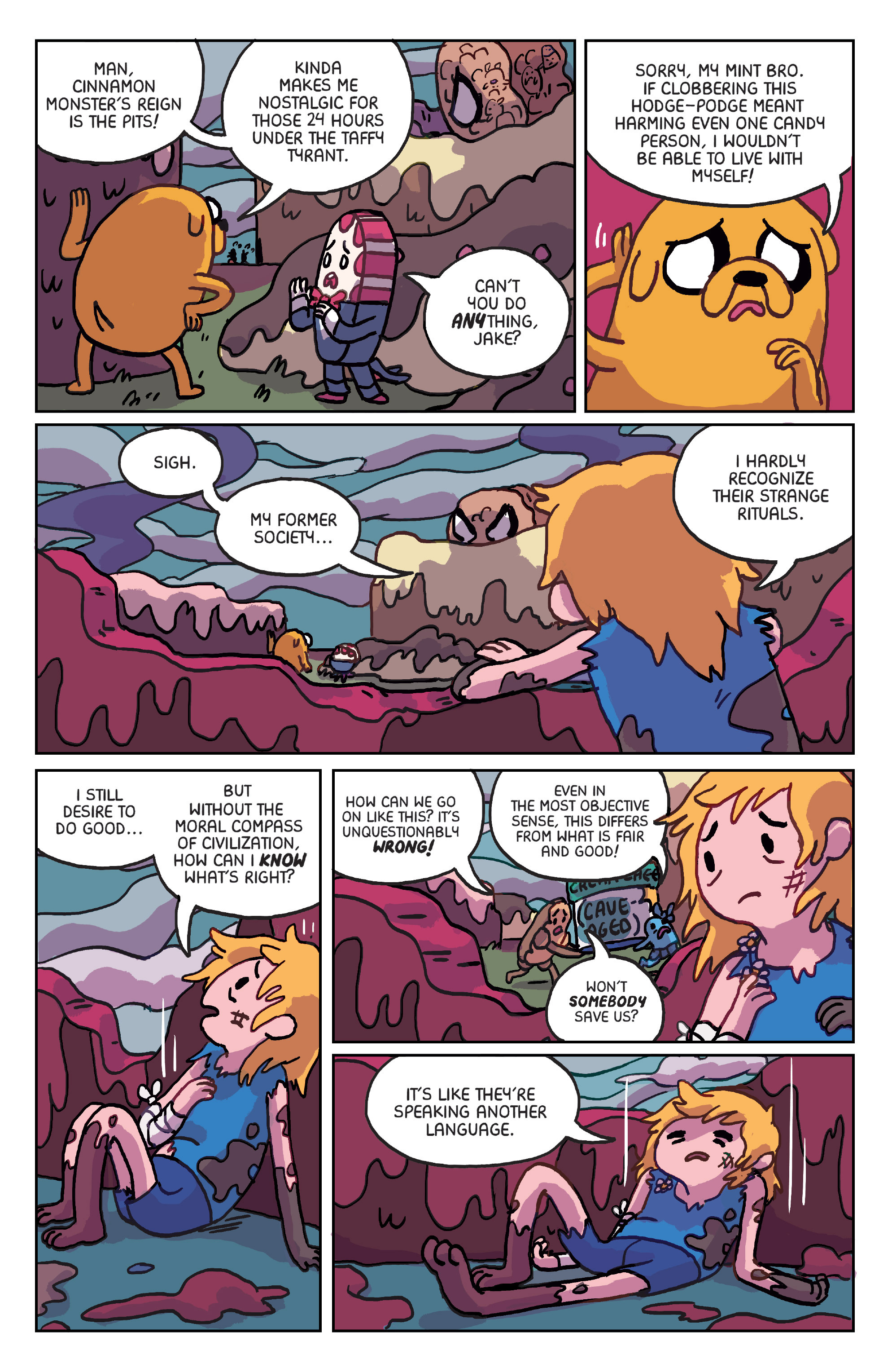 Read online Adventure Time: Marceline Gone Adrift comic -  Issue #6 - 4