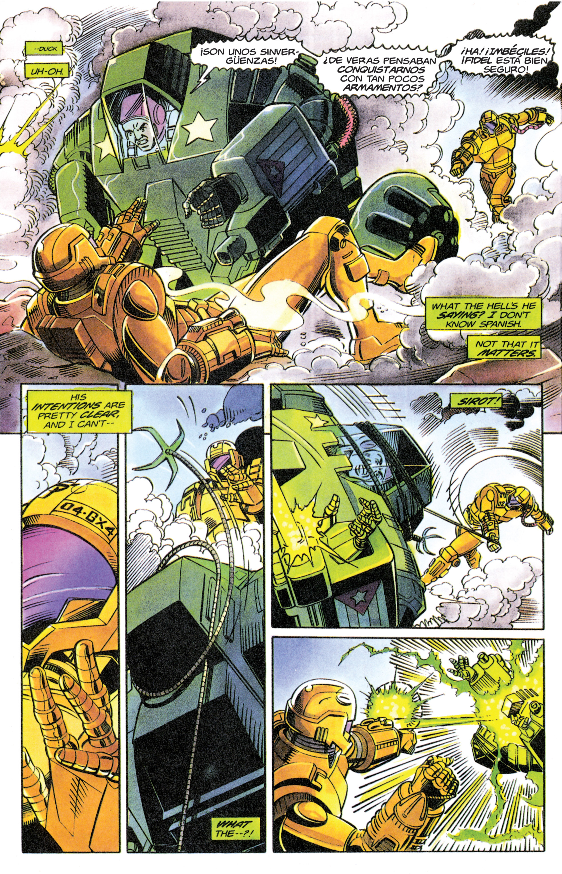 Read online Armorines comic -  Issue #11 - 5