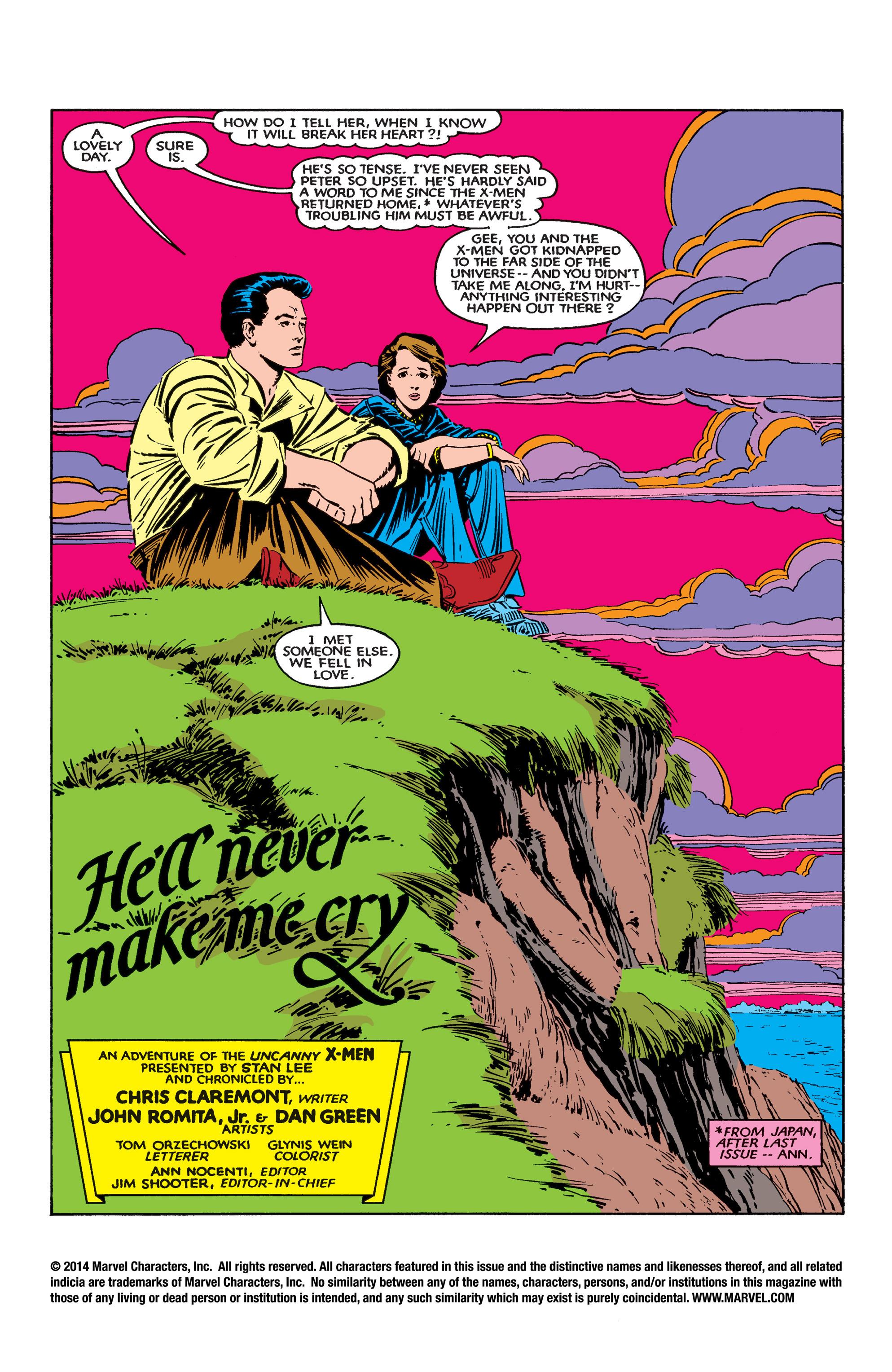 Read online Uncanny X-Men (1963) comic -  Issue #183 - 2