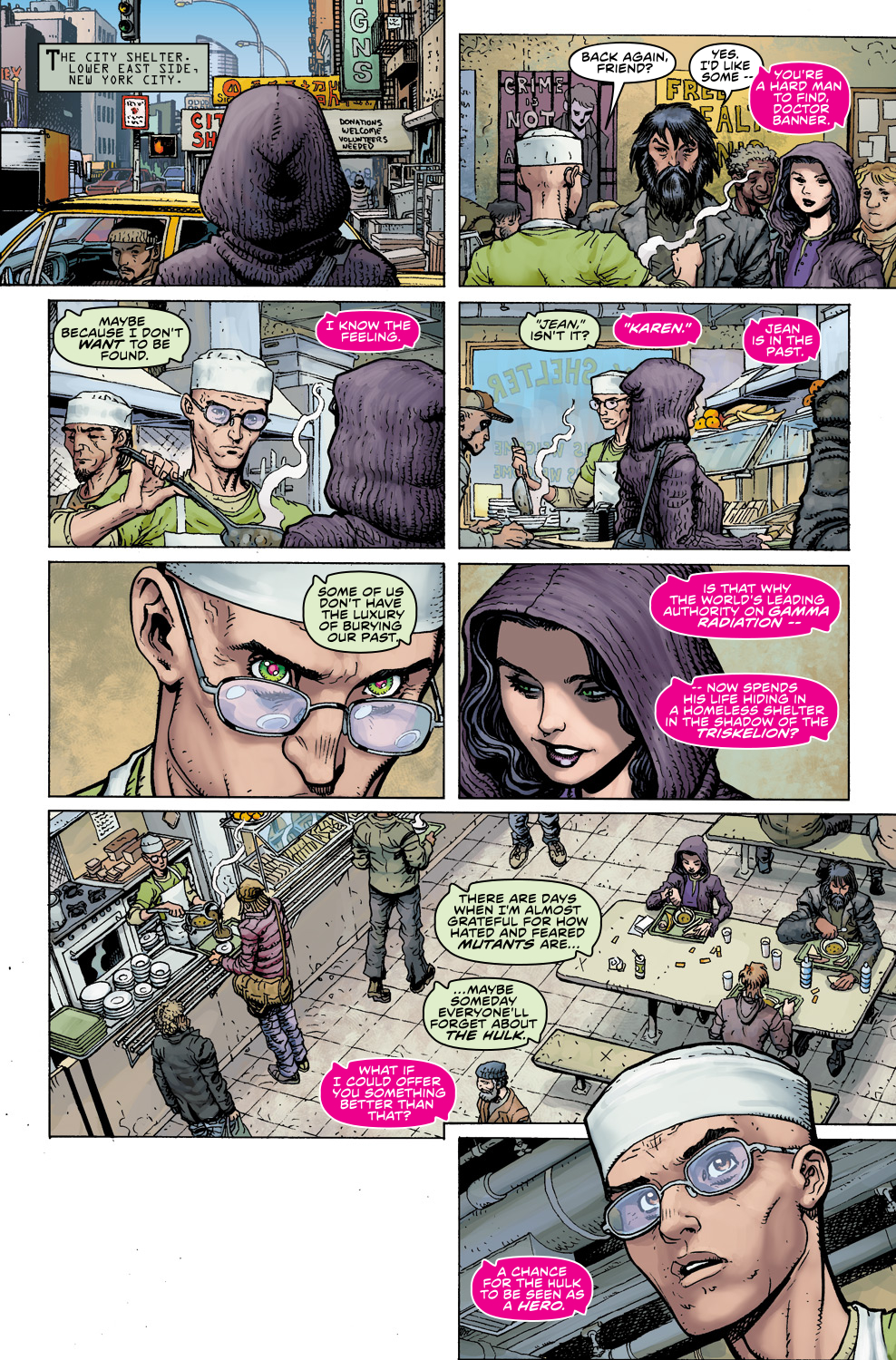 Read online Ultimate X comic -  Issue #5 - 9