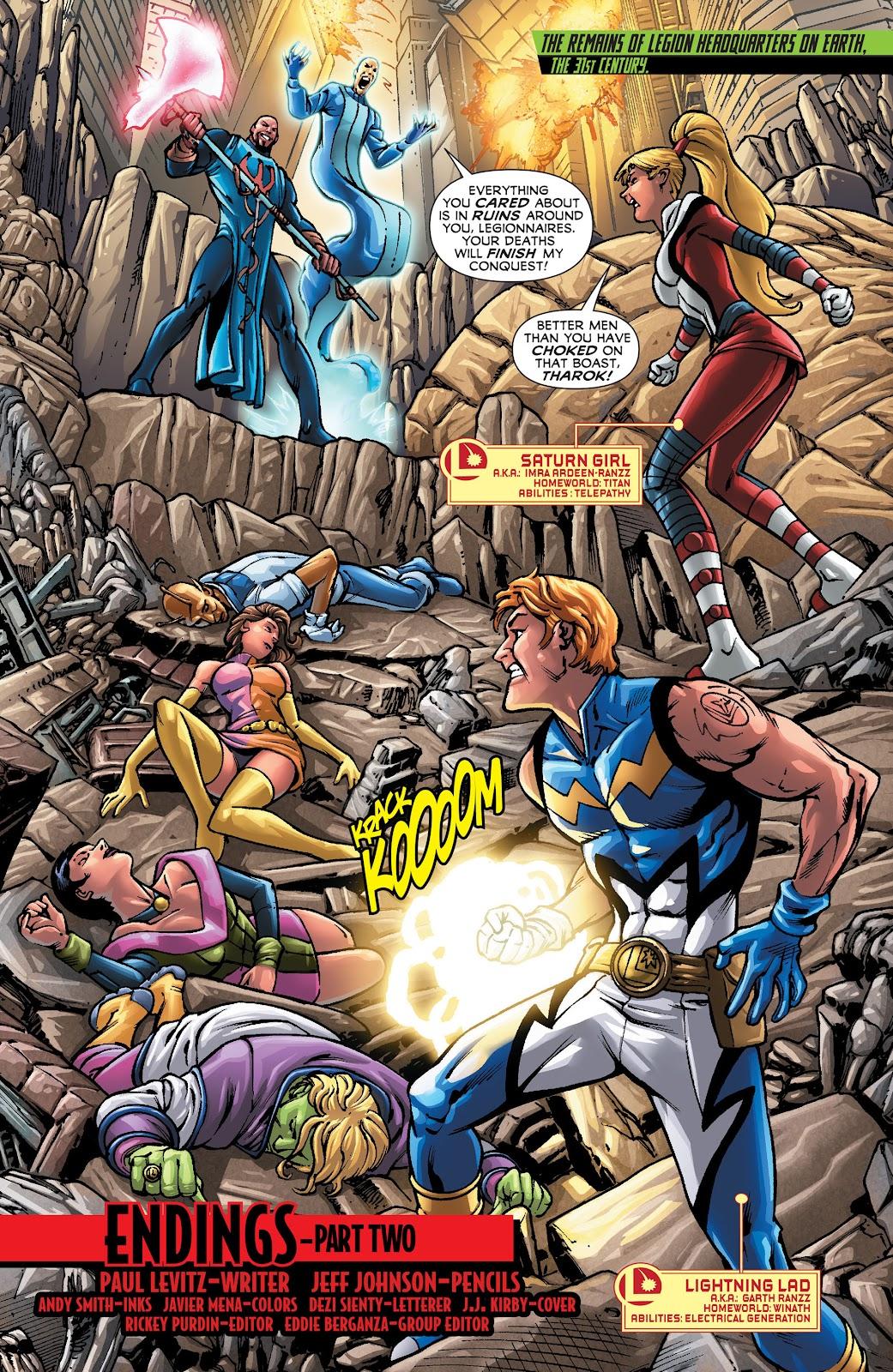 Legion of Super-Heroes (2011) Issue #22 #23 - English 2