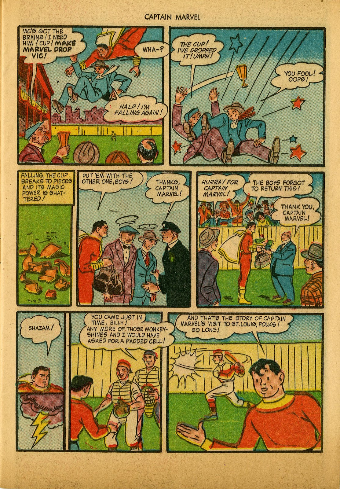Captain Marvel Adventures issue 36 - Page 13