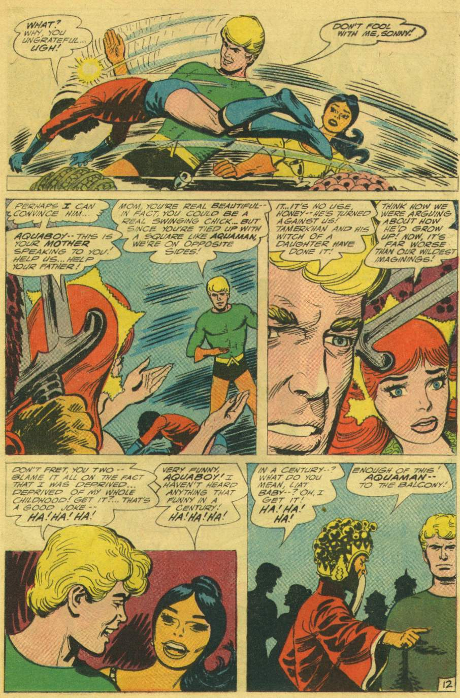 Read online Aquaman (1962) comic -  Issue #25 - 17