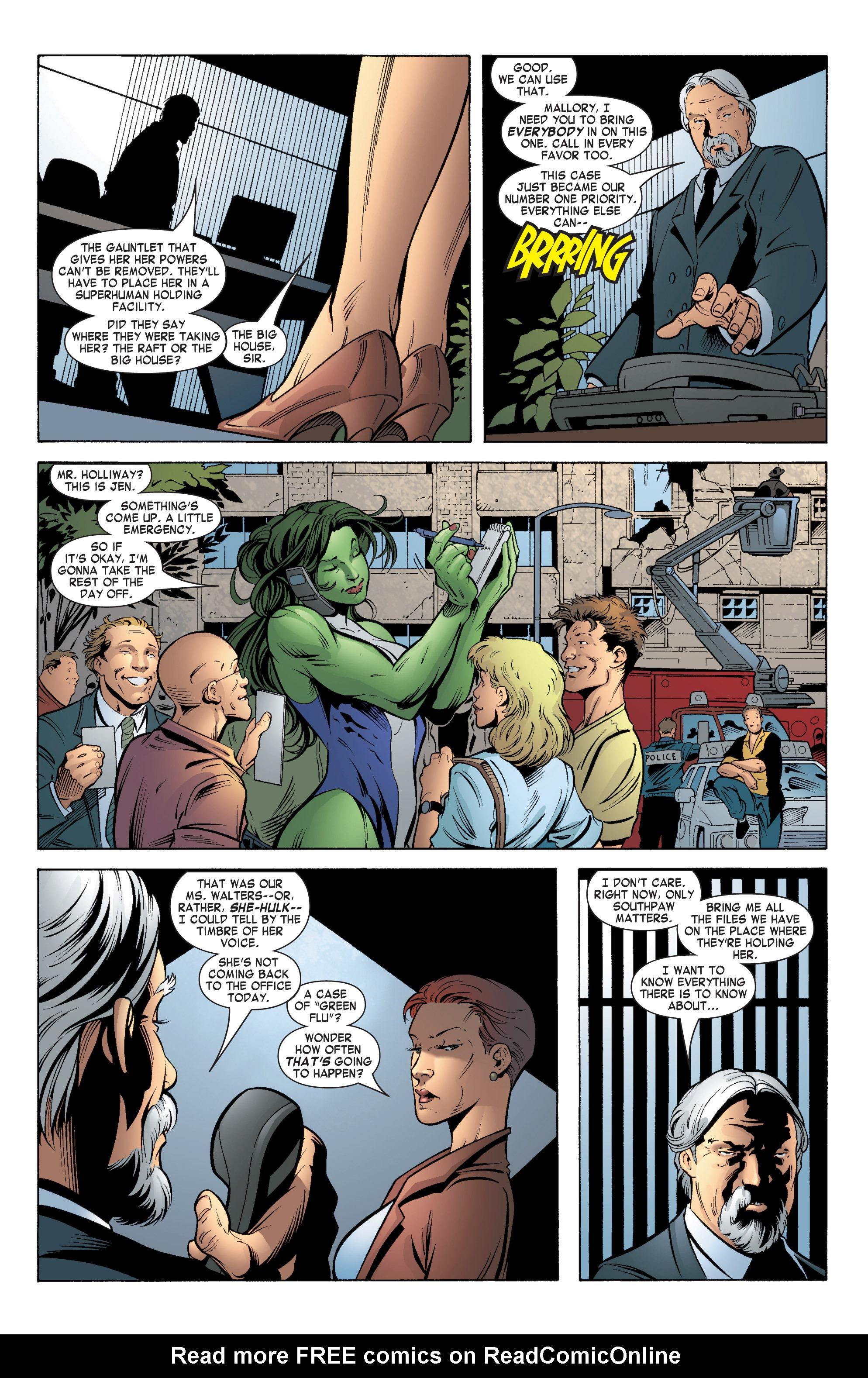 Read online She-Hulk (2004) comic -  Issue #5 - 10