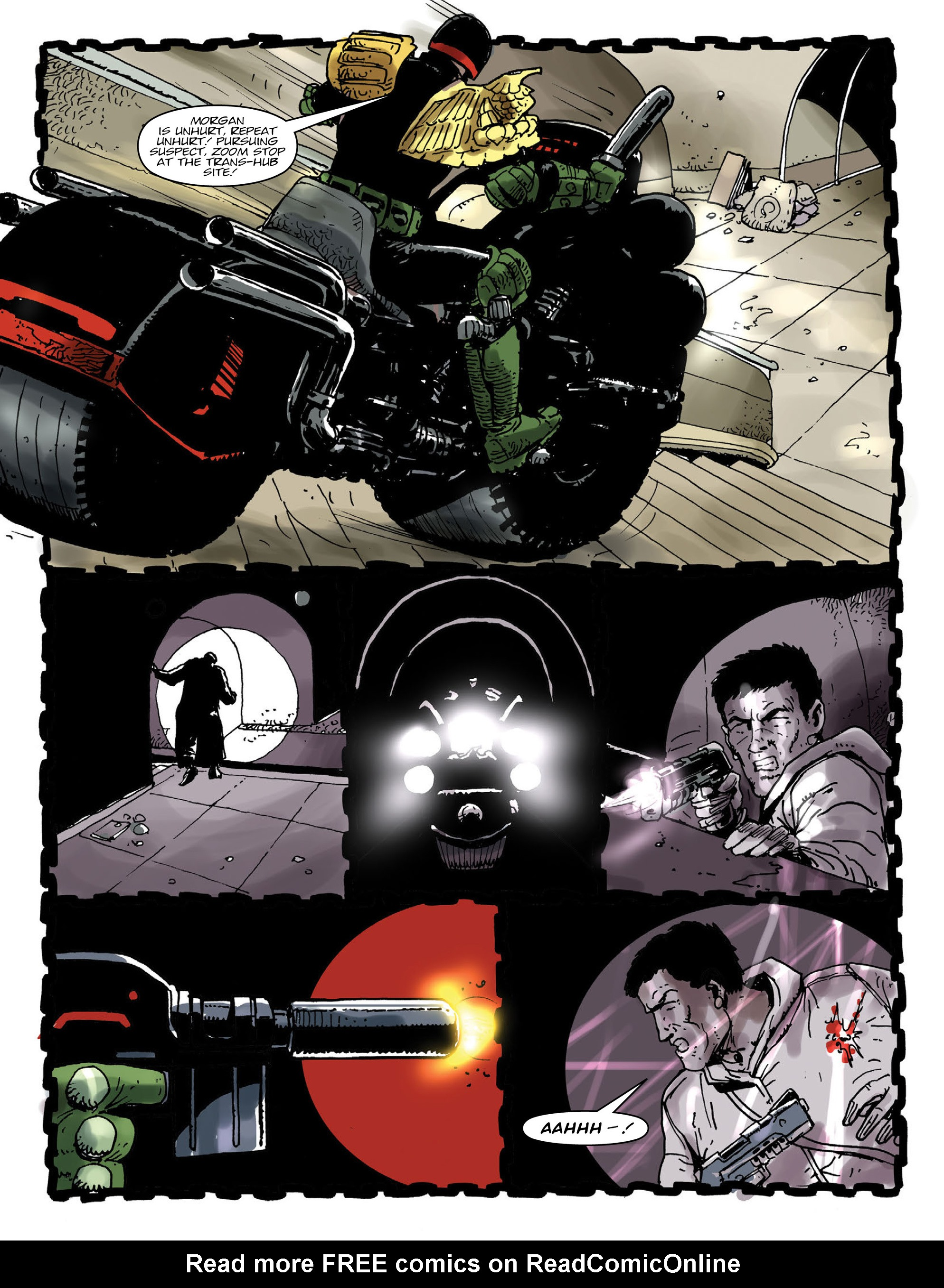 Read online 2000 AD comic -  Issue #1998 - 5