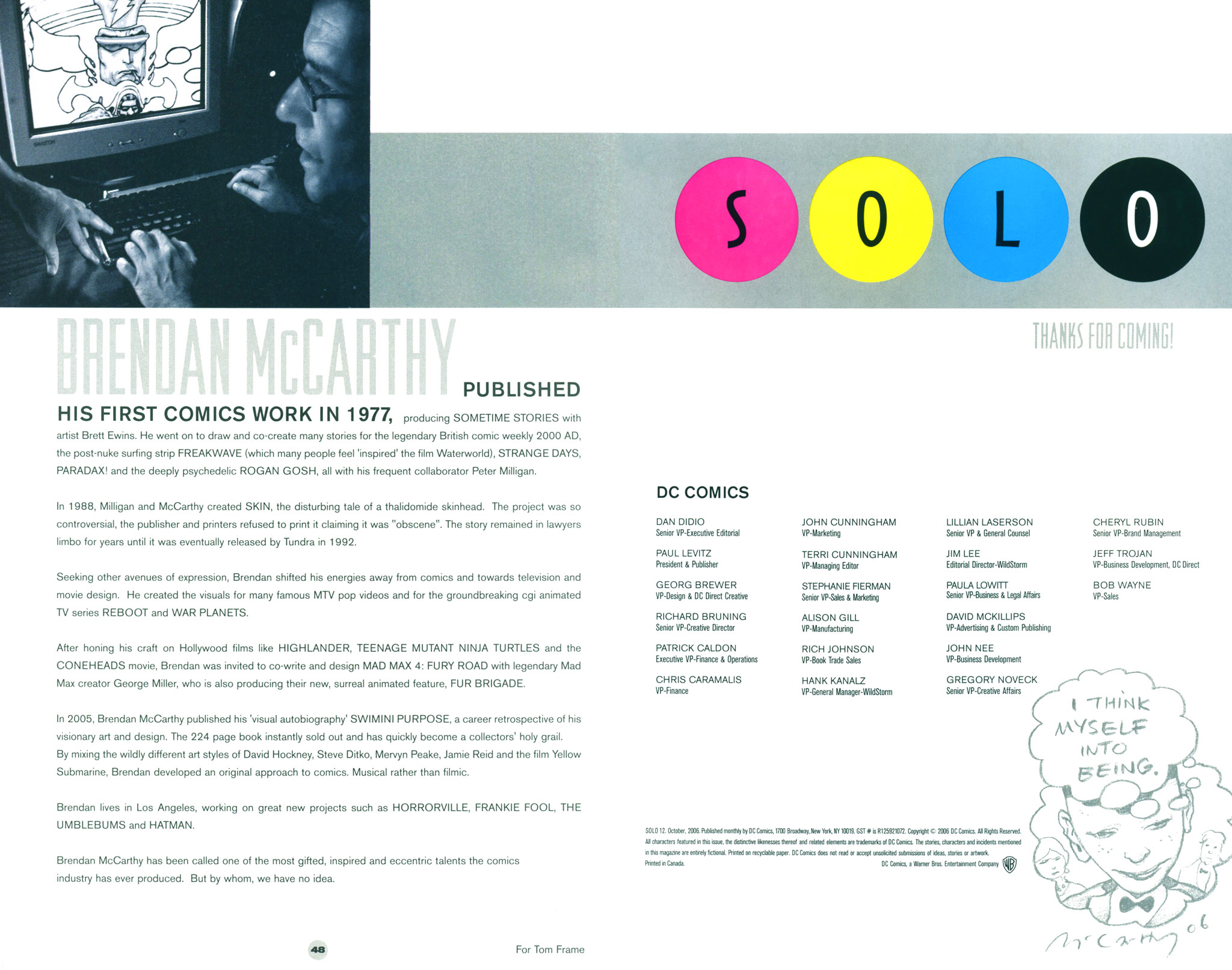 Read online Solo (2004) comic -  Issue #12 - 50