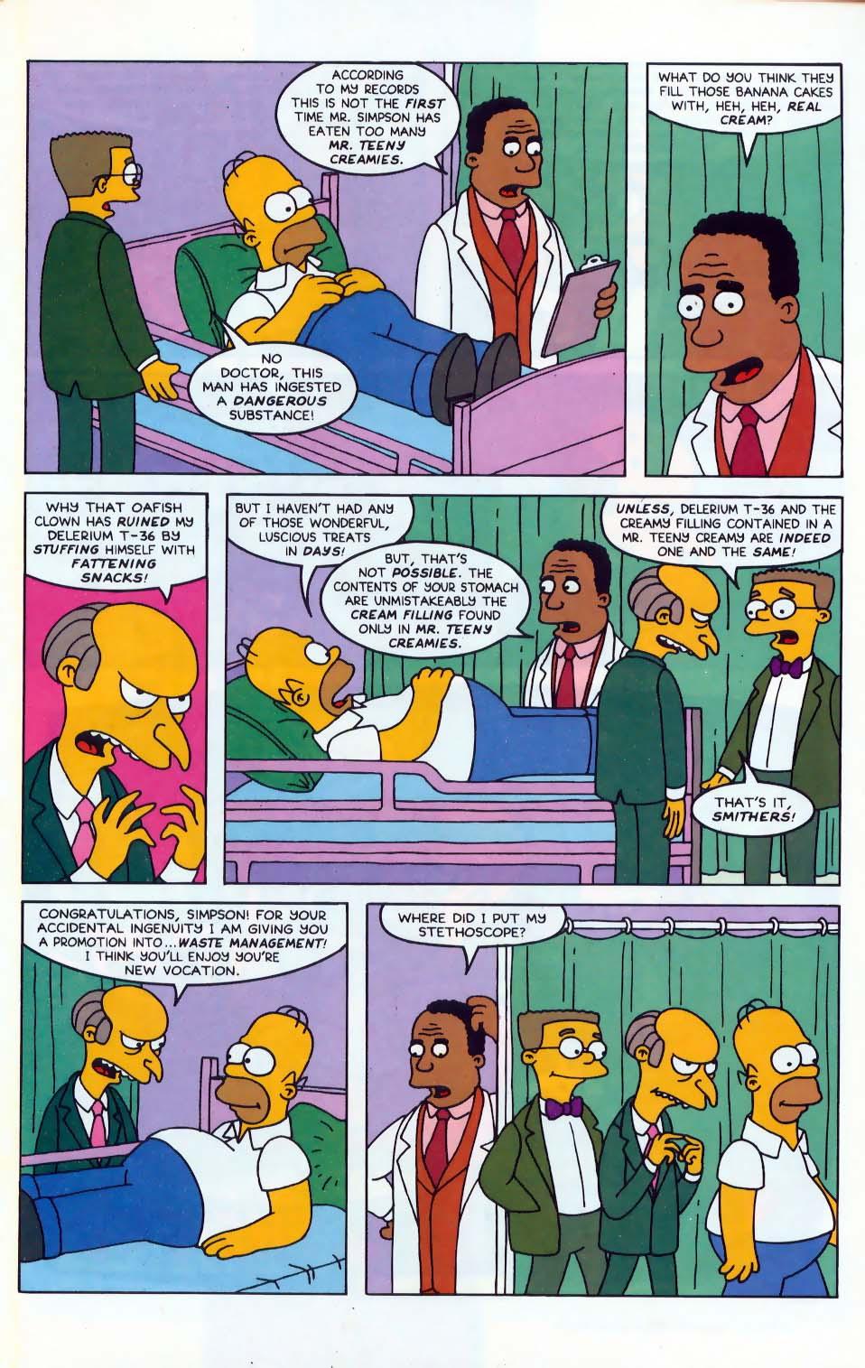 Read online Simpsons Comics comic -  Issue #10 - 22