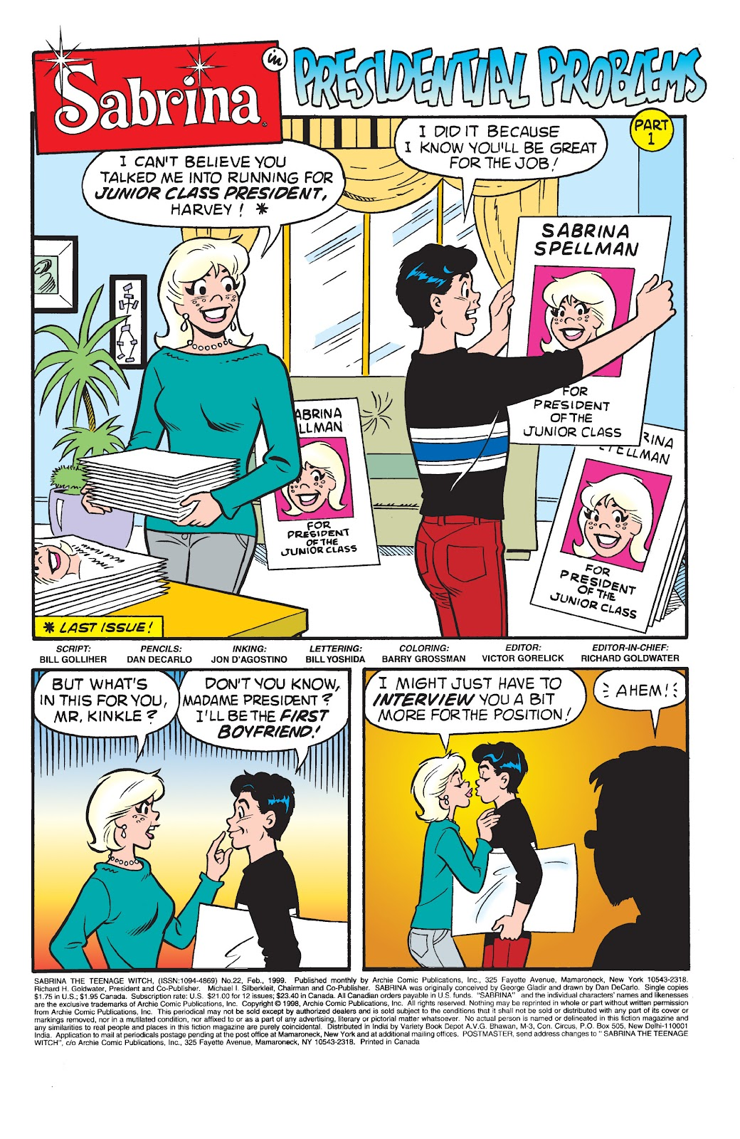 Sabrina the Teenage Witch (1997) Issue #22 #23 - English 2