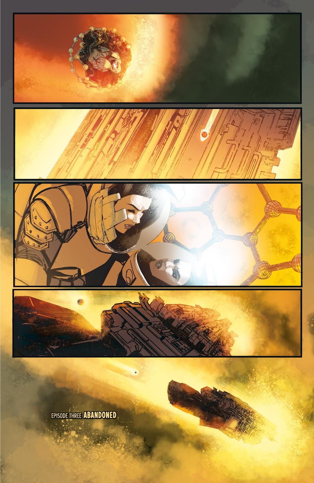 Read online Aliens: Resistance comic -  Issue #3 - 7