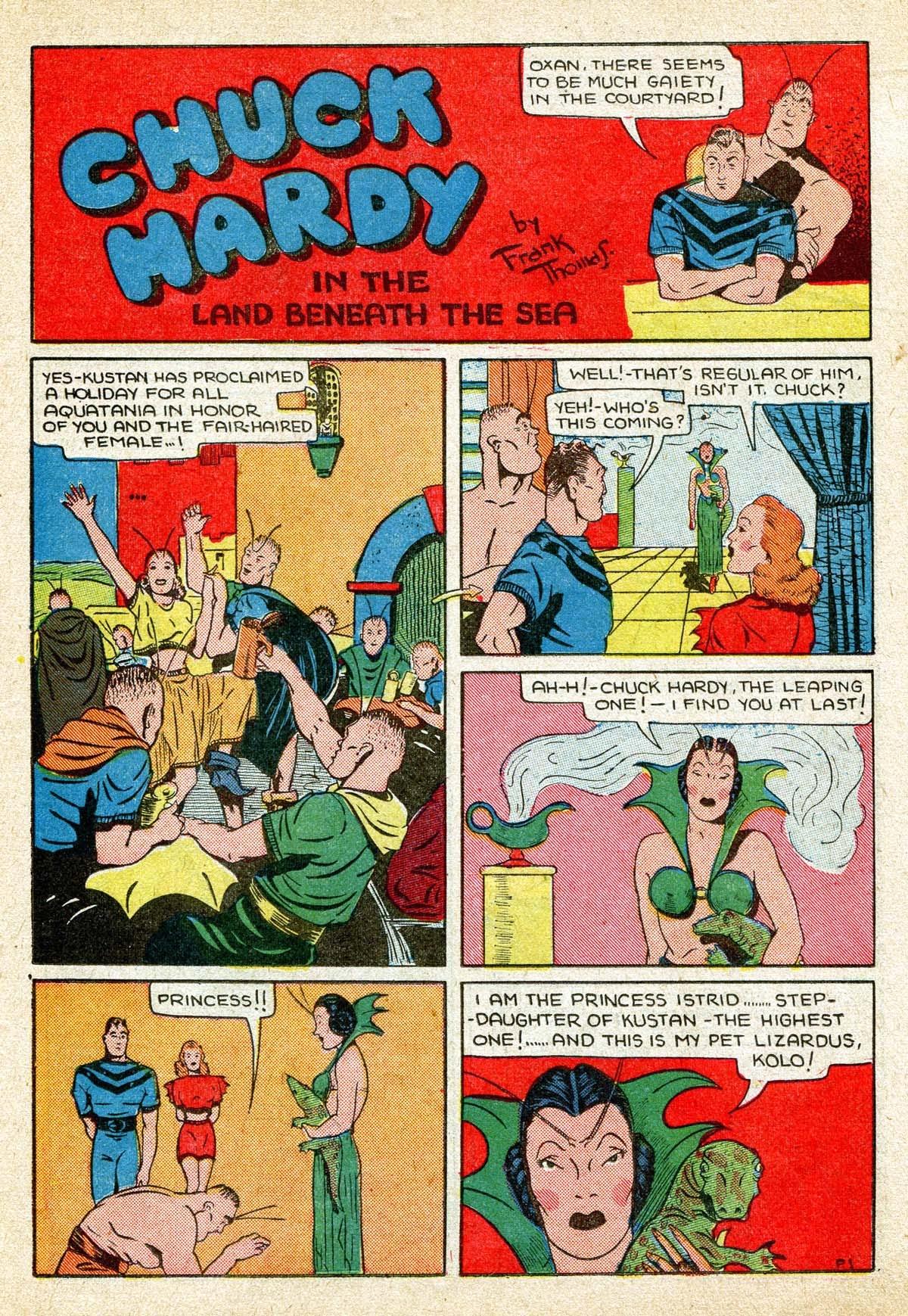 Read online Amazing Man Comics comic -  Issue #8 - 45