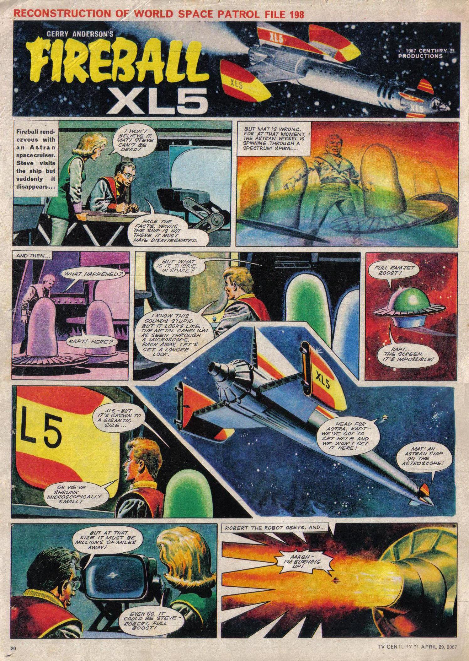 Read online TV Century 21 (TV 21) comic -  Issue #119 - 19