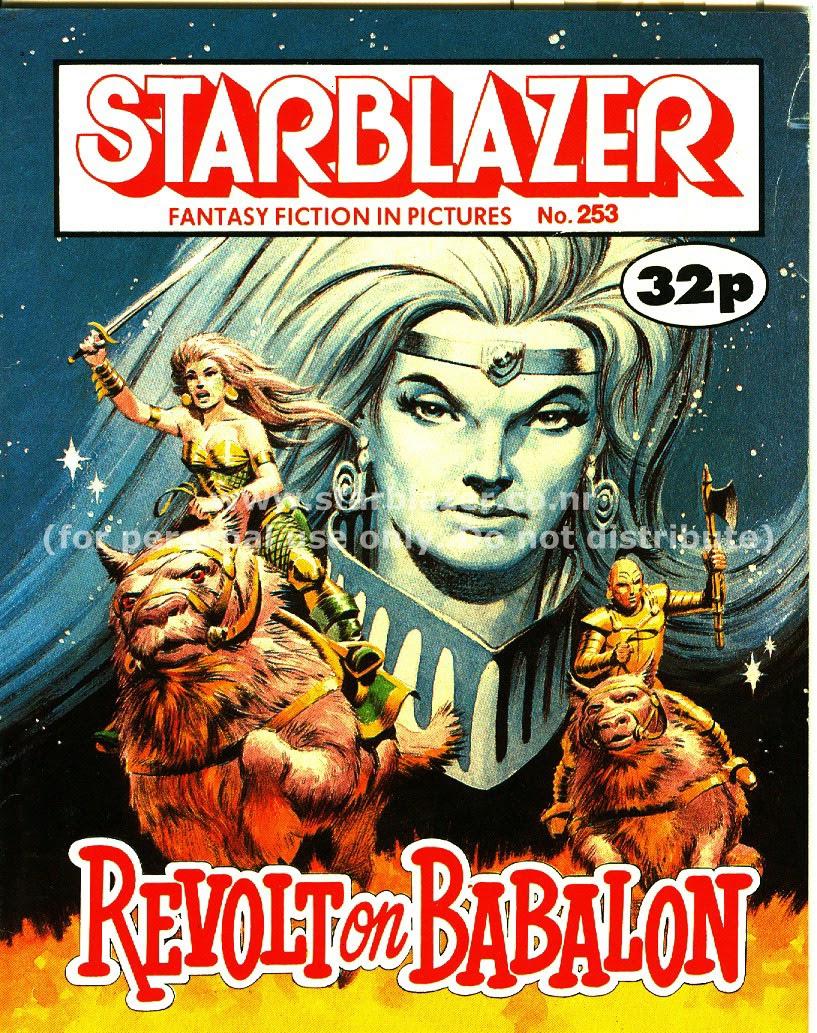 Starblazer issue 253 - Page 1