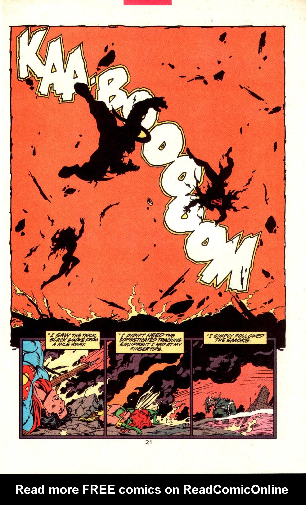Read online Adventures of Superman (1987) comic -  Issue #497 - 23