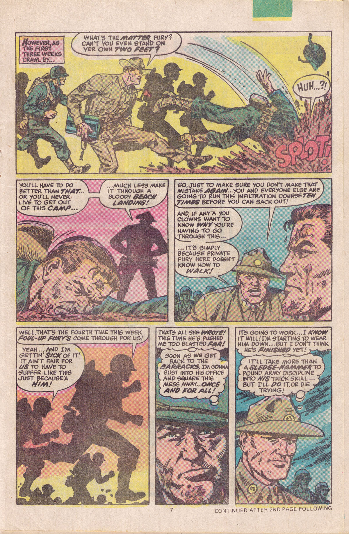 Read online Sgt. Fury comic -  Issue #158 - 9