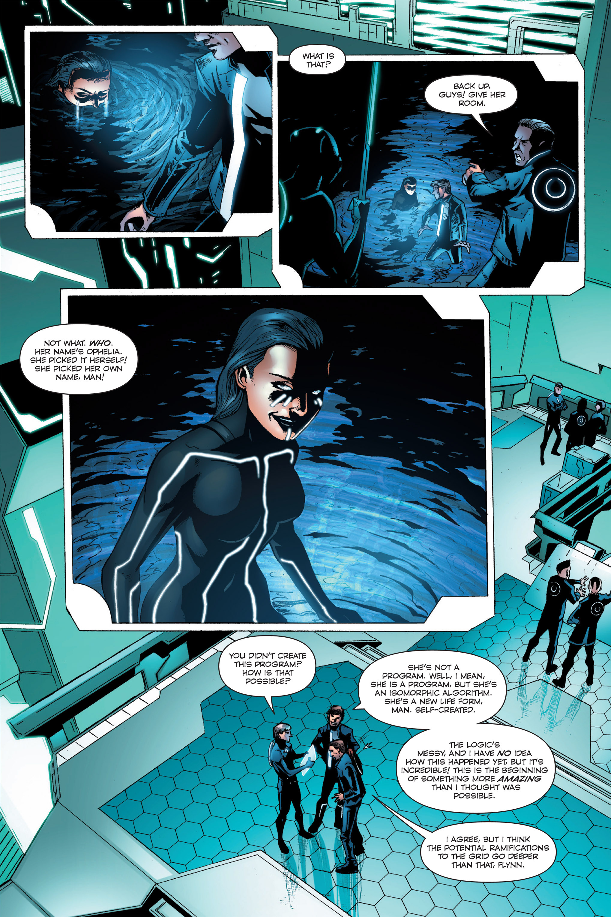 Read online TRON: Betrayal comic -  Issue # TPB - 34