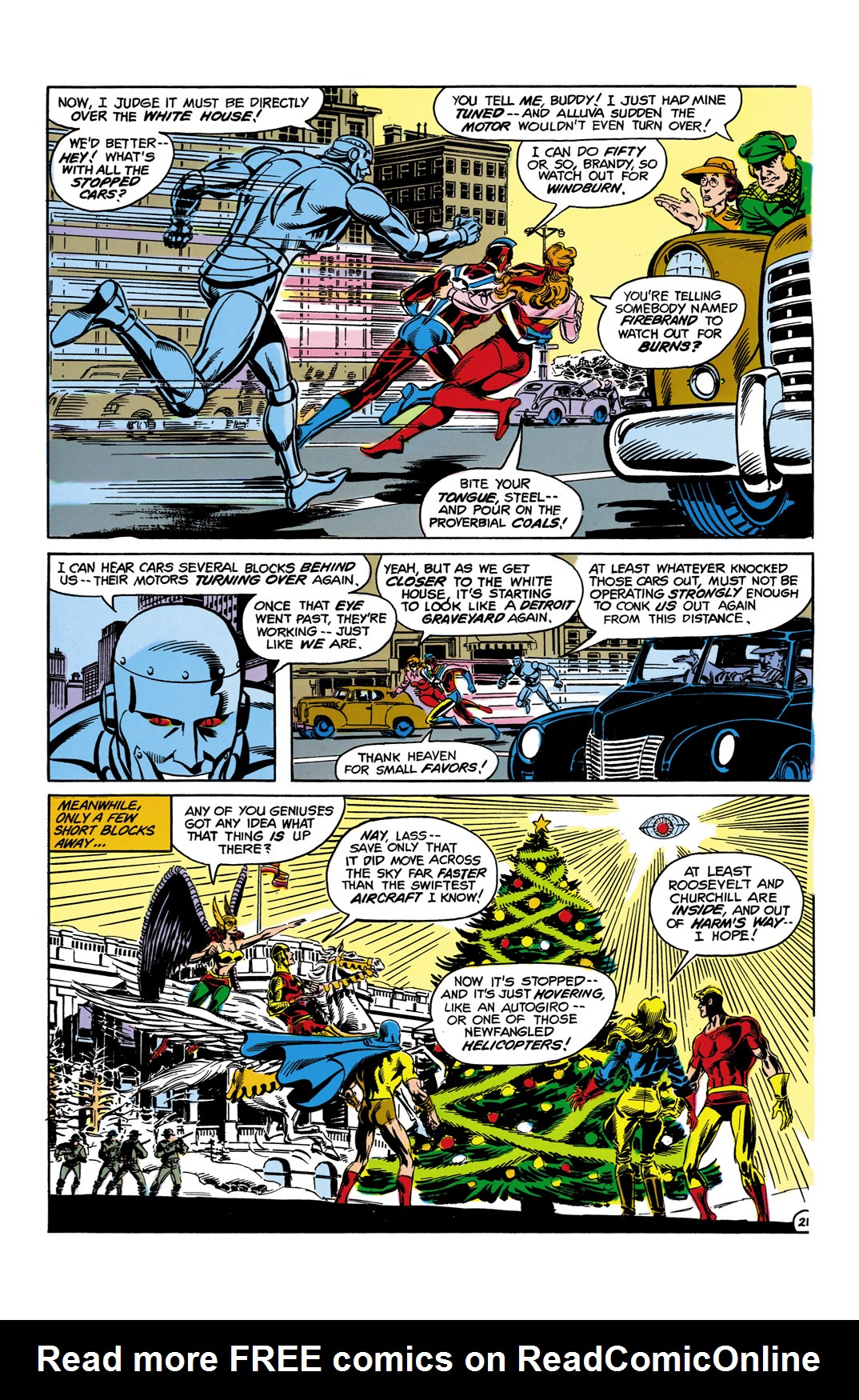 Read online All-Star Squadron comic -  Issue #10 - 22