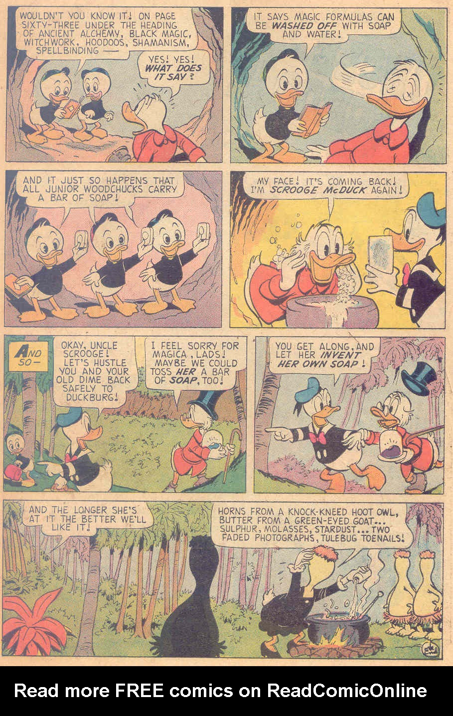 Read online Uncle Scrooge (1953) comic -  Issue #138 - 27