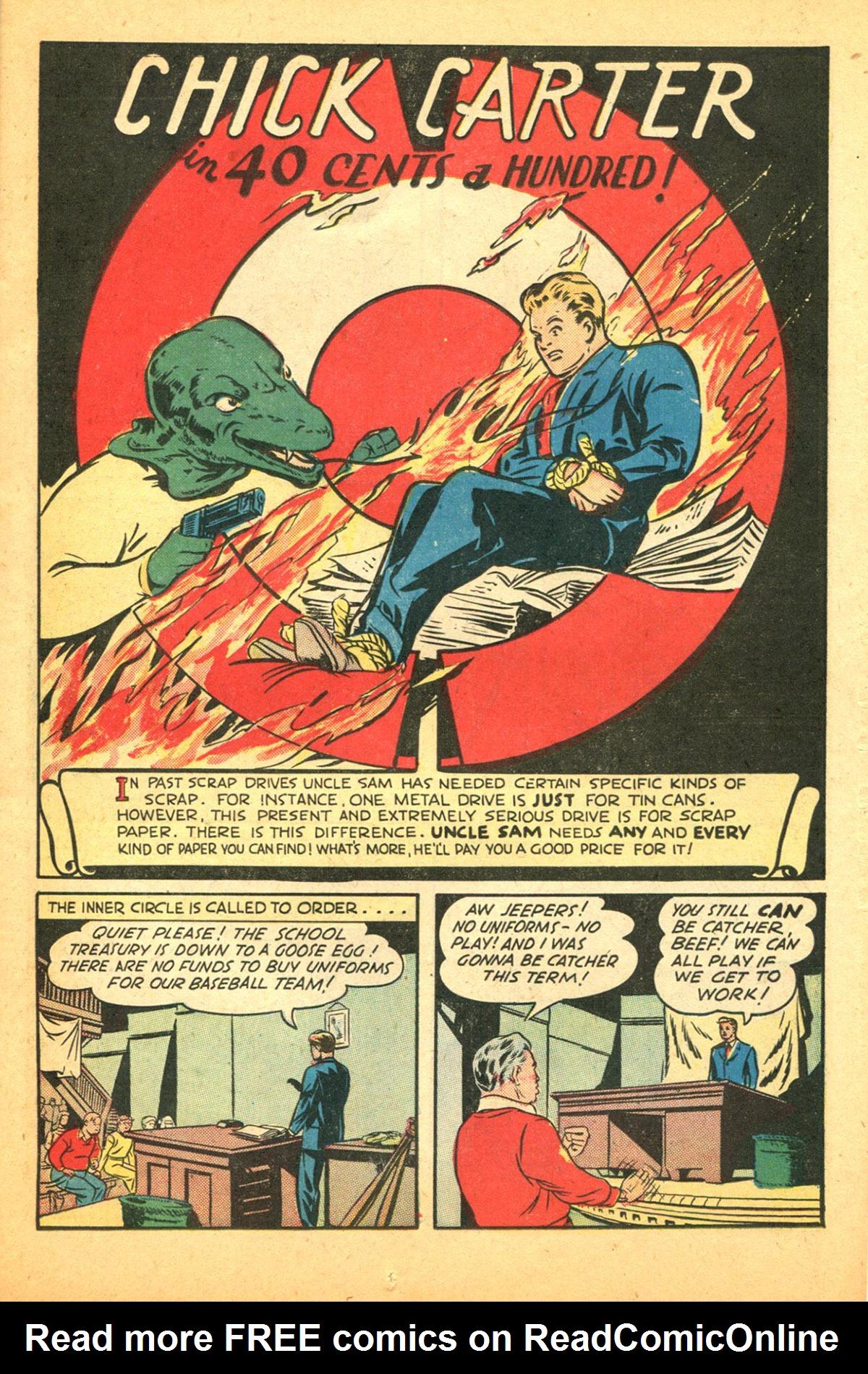 Read online Shadow Comics comic -  Issue #38 - 27