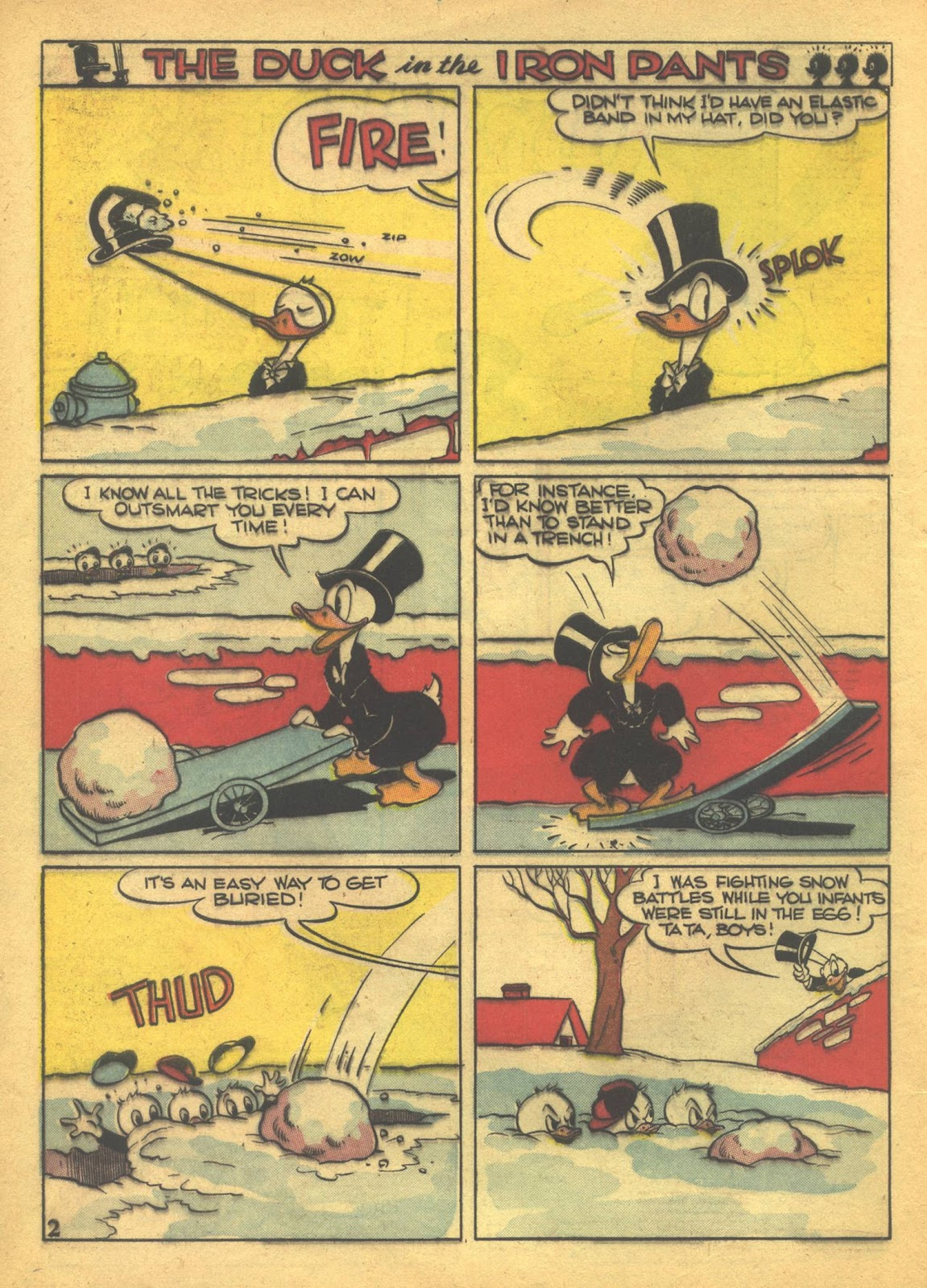 Walt Disney's Comics and Stories issue 41 - Page 4