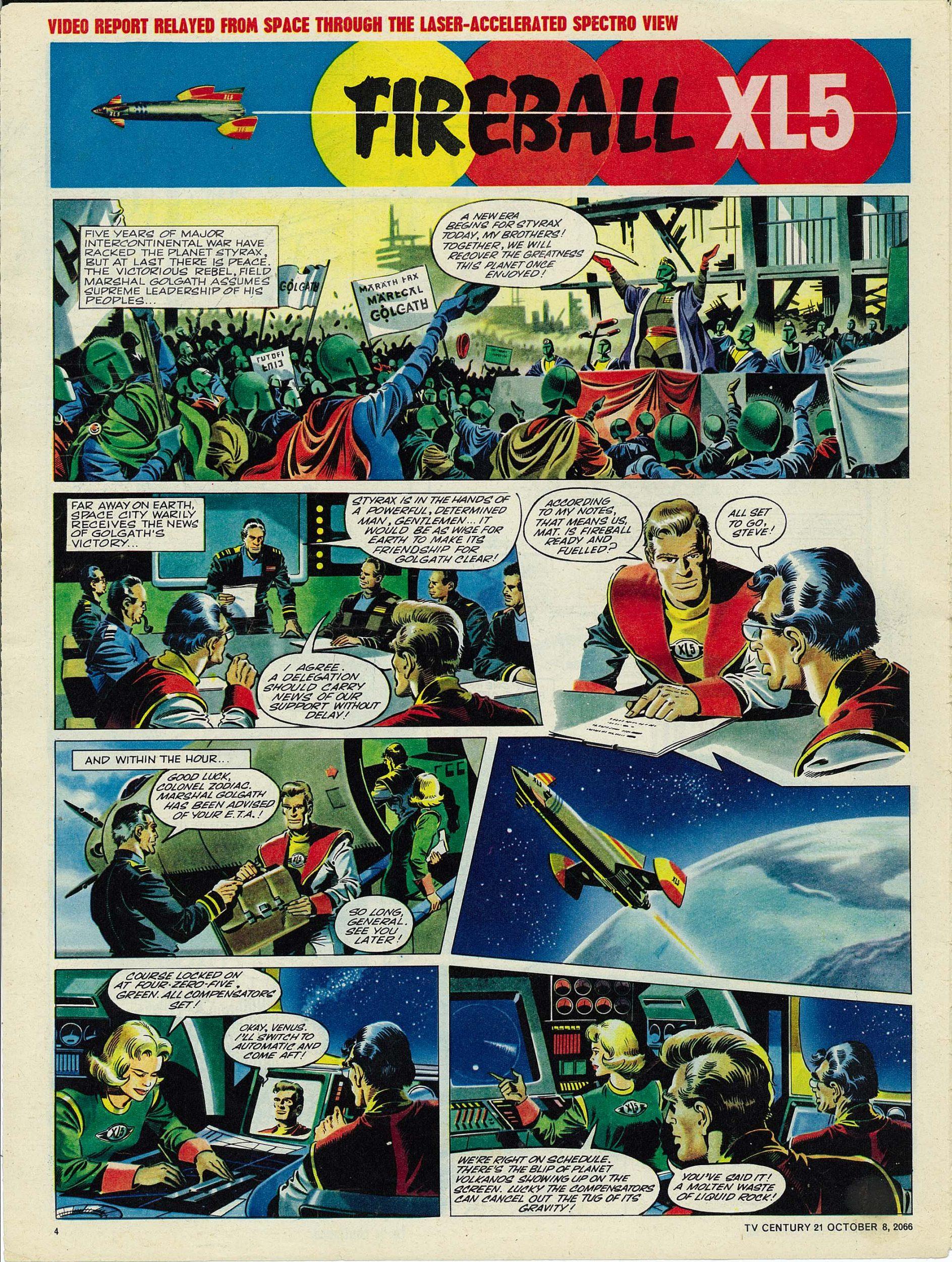 Read online TV Century 21 (TV 21) comic -  Issue #90 - 4
