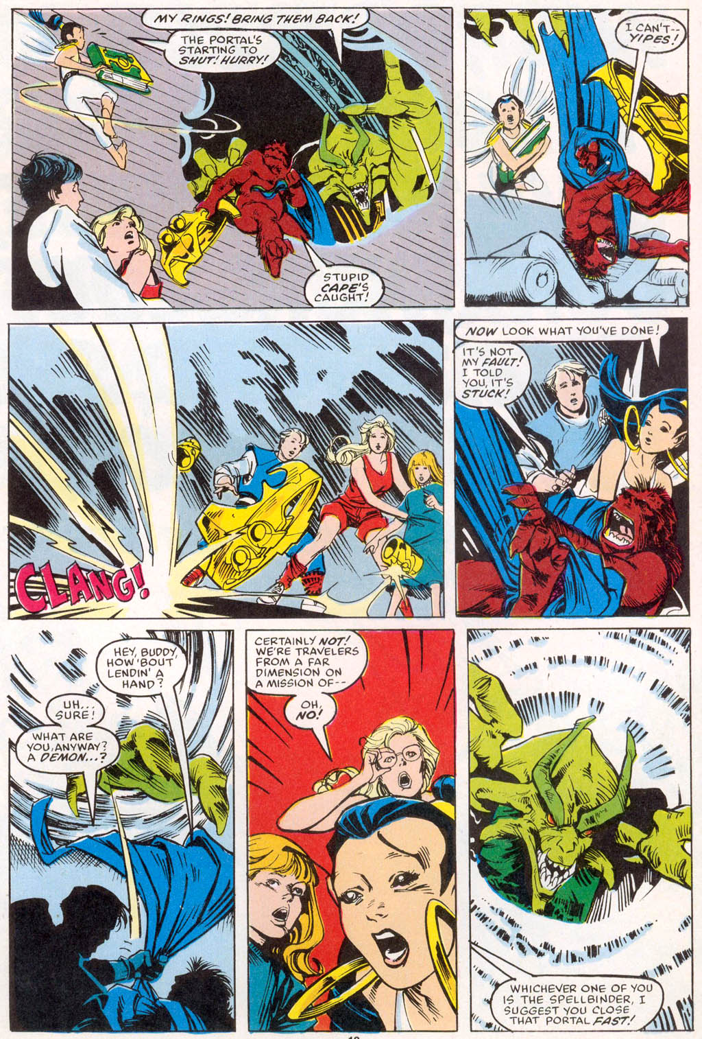 Read online Spellbound comic -  Issue #1 - 13