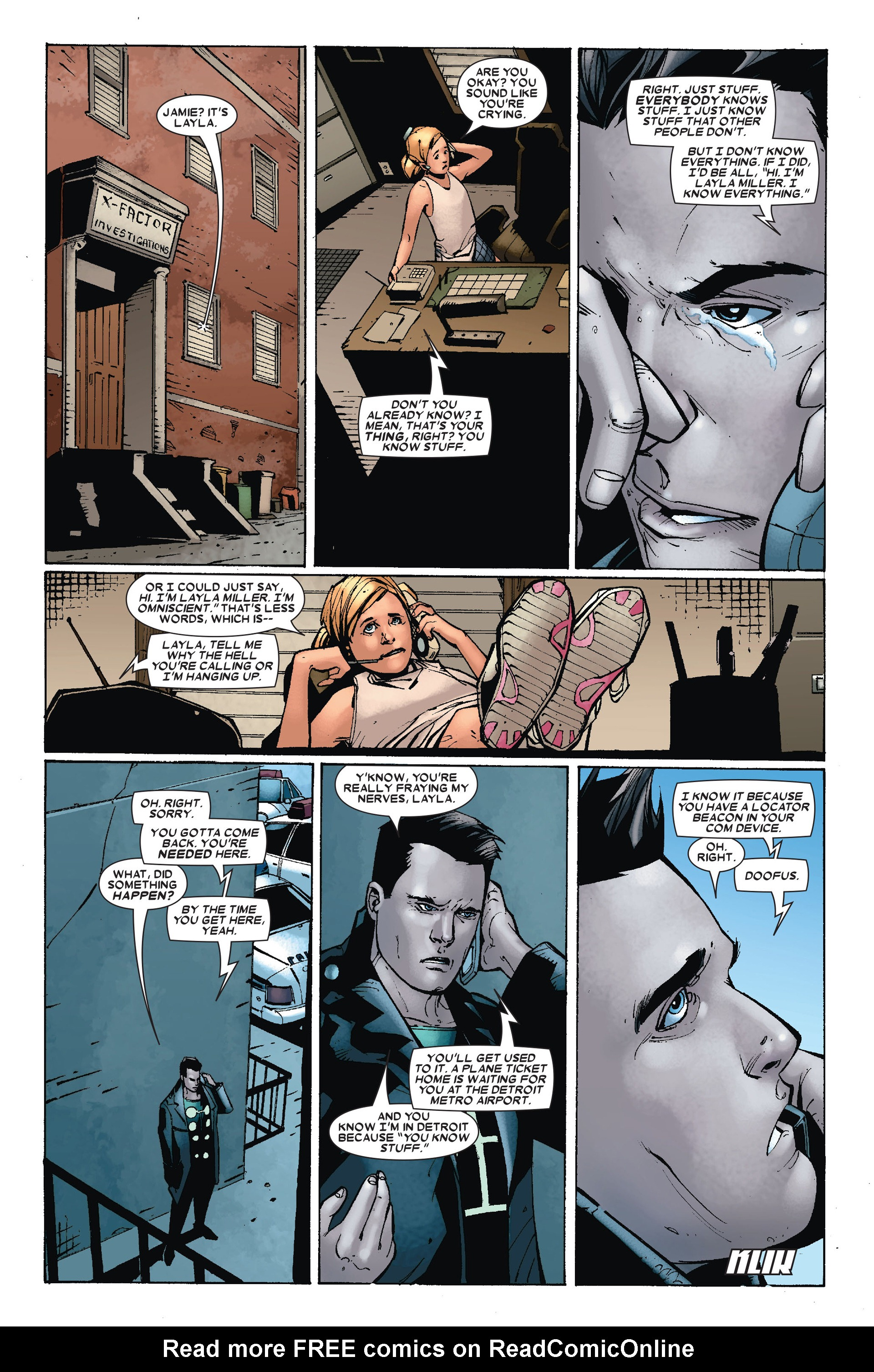 Read online X-Factor (2006) comic -  Issue #17 - 12