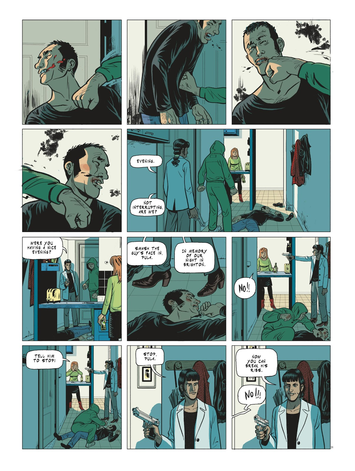 Read online Maggy Garrisson comic -  Issue #3 - 26