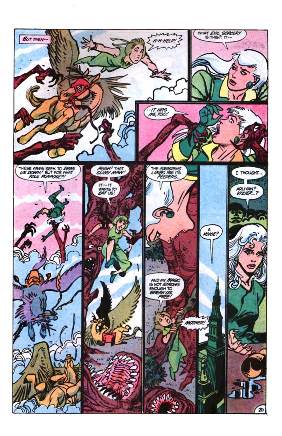 Read online Amethyst, Princess of Gemworld comic -  Issue #11 - 21