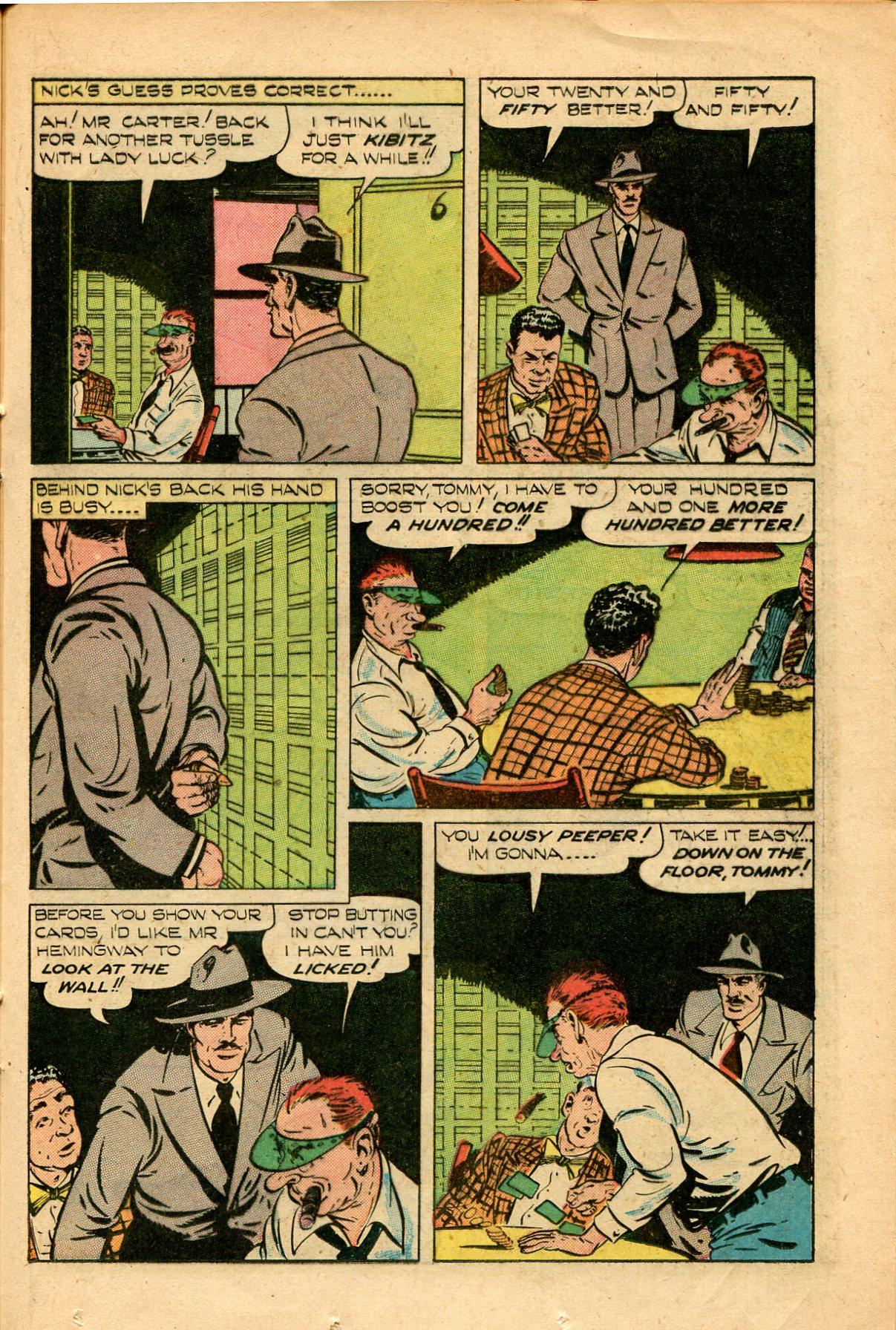 Read online Shadow Comics comic -  Issue #82 - 33