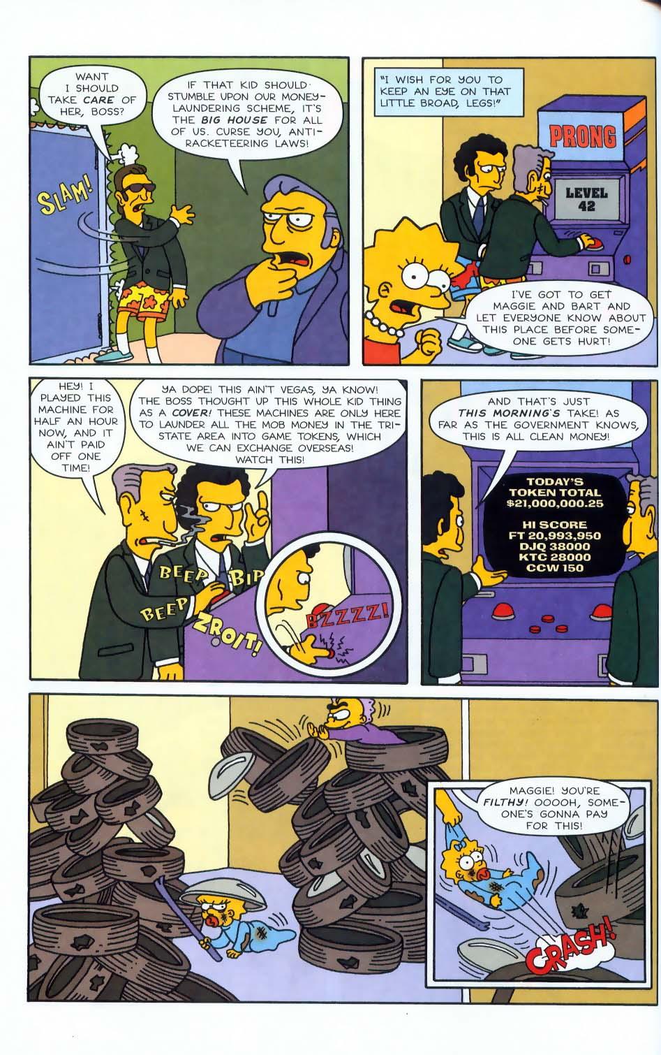 Read online Simpsons Comics comic -  Issue #50 - 73