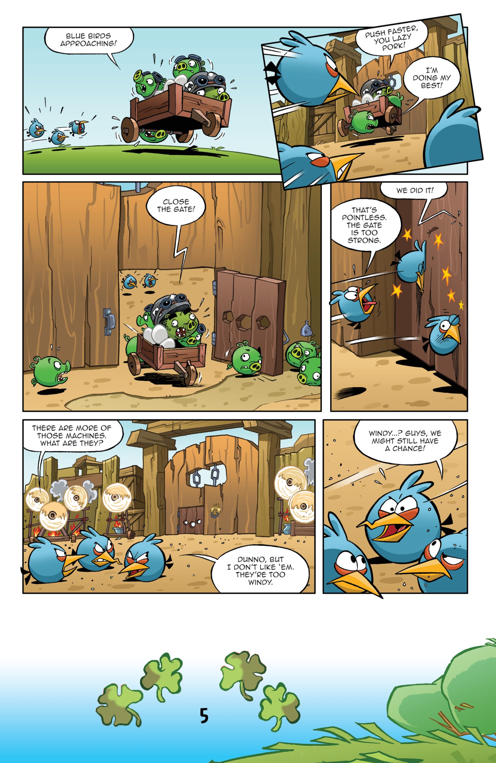 Read online Angry Birds Comics (2016) comic -  Issue #3 - 7