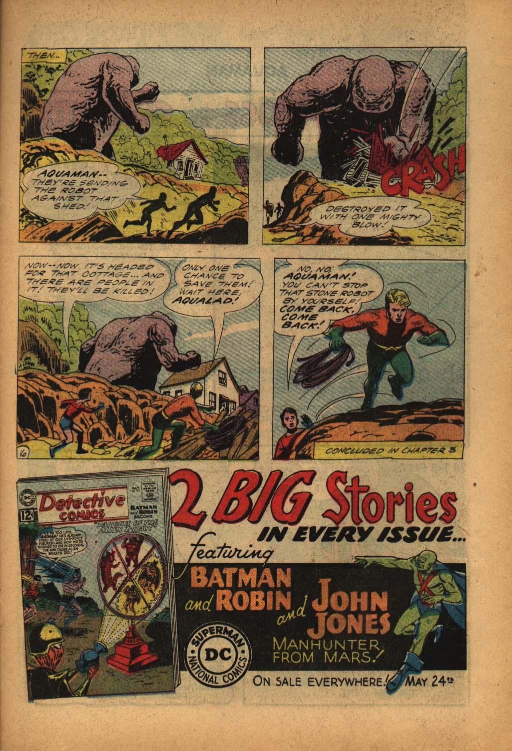 Read online Aquaman (1962) comic -  Issue #4 - 21