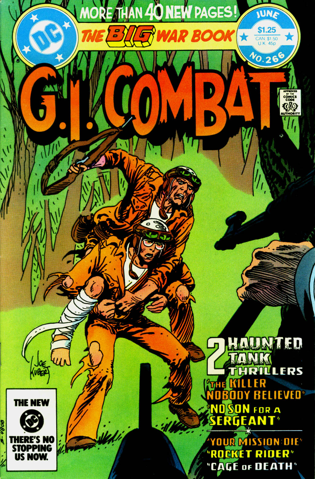 G.I. Combat (1952) issue 266 - Page 1