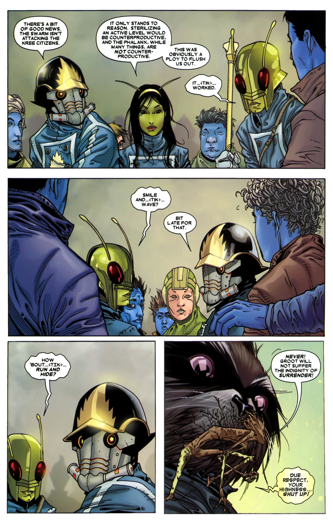 Read online Annihilation: Conquest - Starlord comic -  Issue #3 - 22