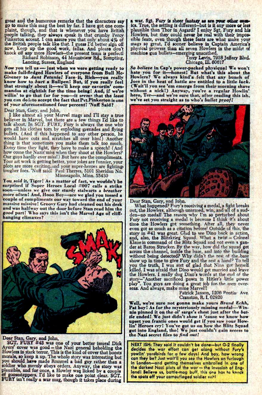 Read online Sgt. Fury comic -  Issue #46 - 33