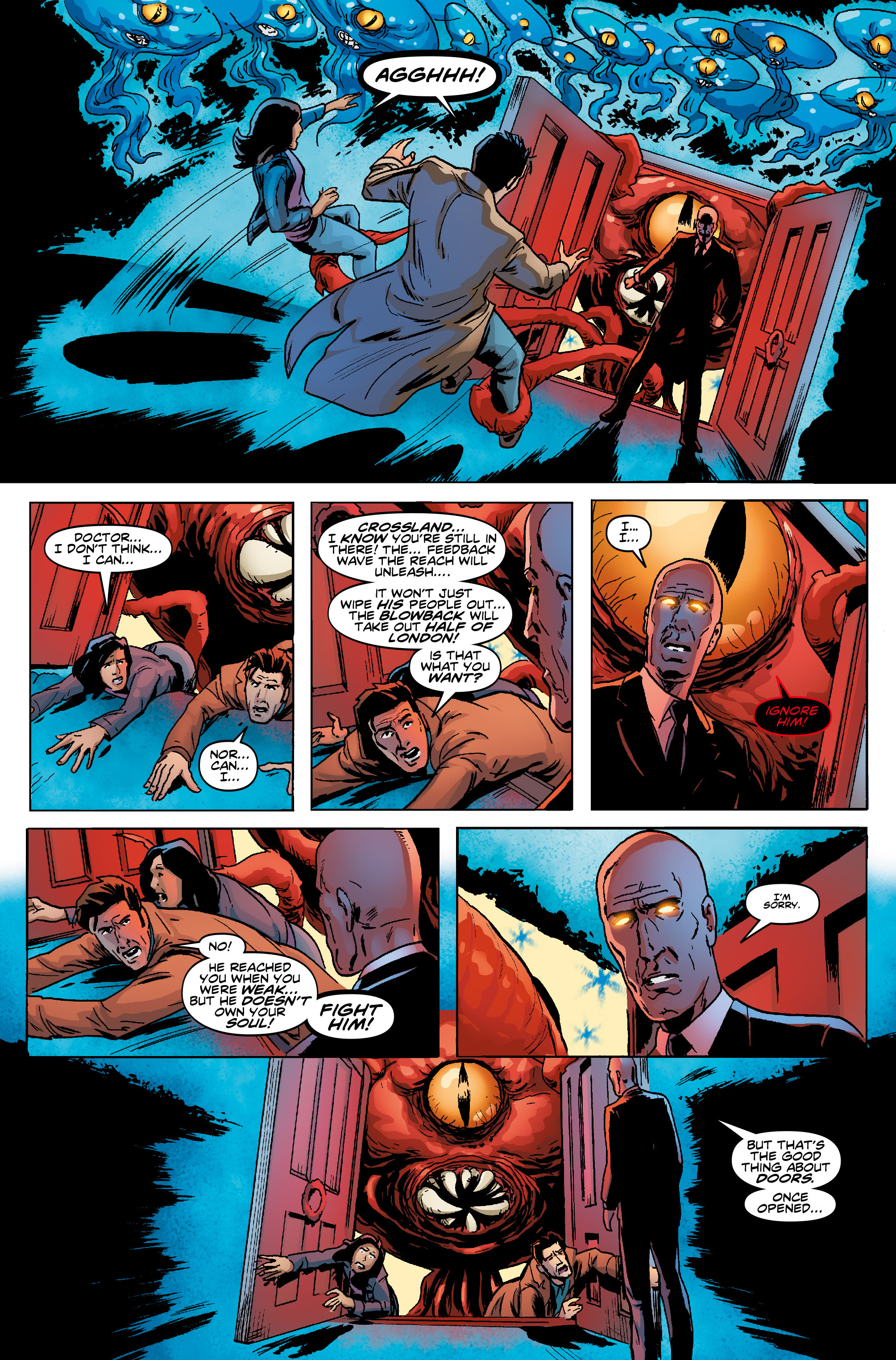 Read online Doctor Who: The Tenth Doctor Year Three comic -  Issue #5 - 26