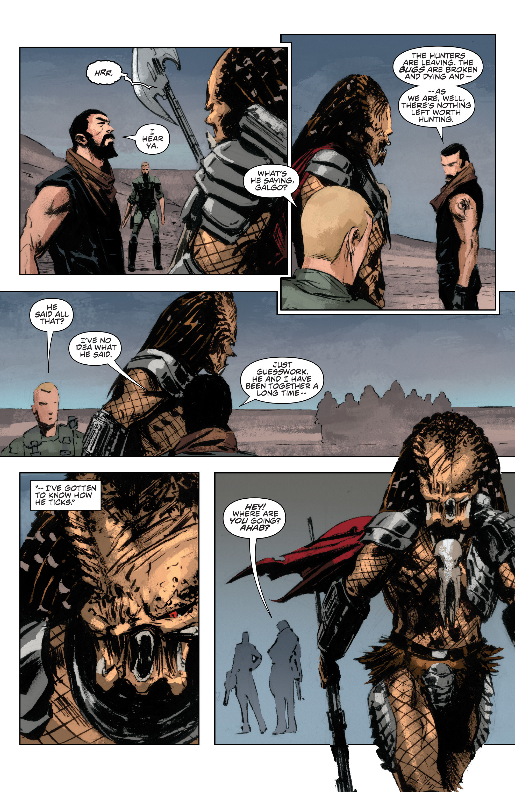 Read online Alien Vs. Predator: Life and Death comic -  Issue #4 - 17