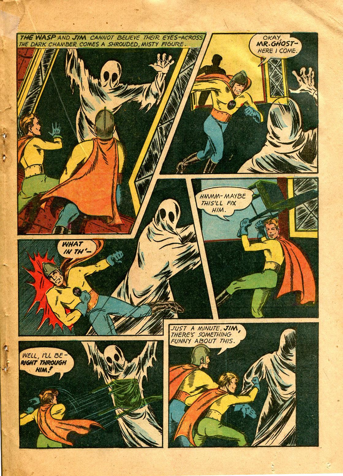 Read online Shadow Comics comic -  Issue #9 - 39