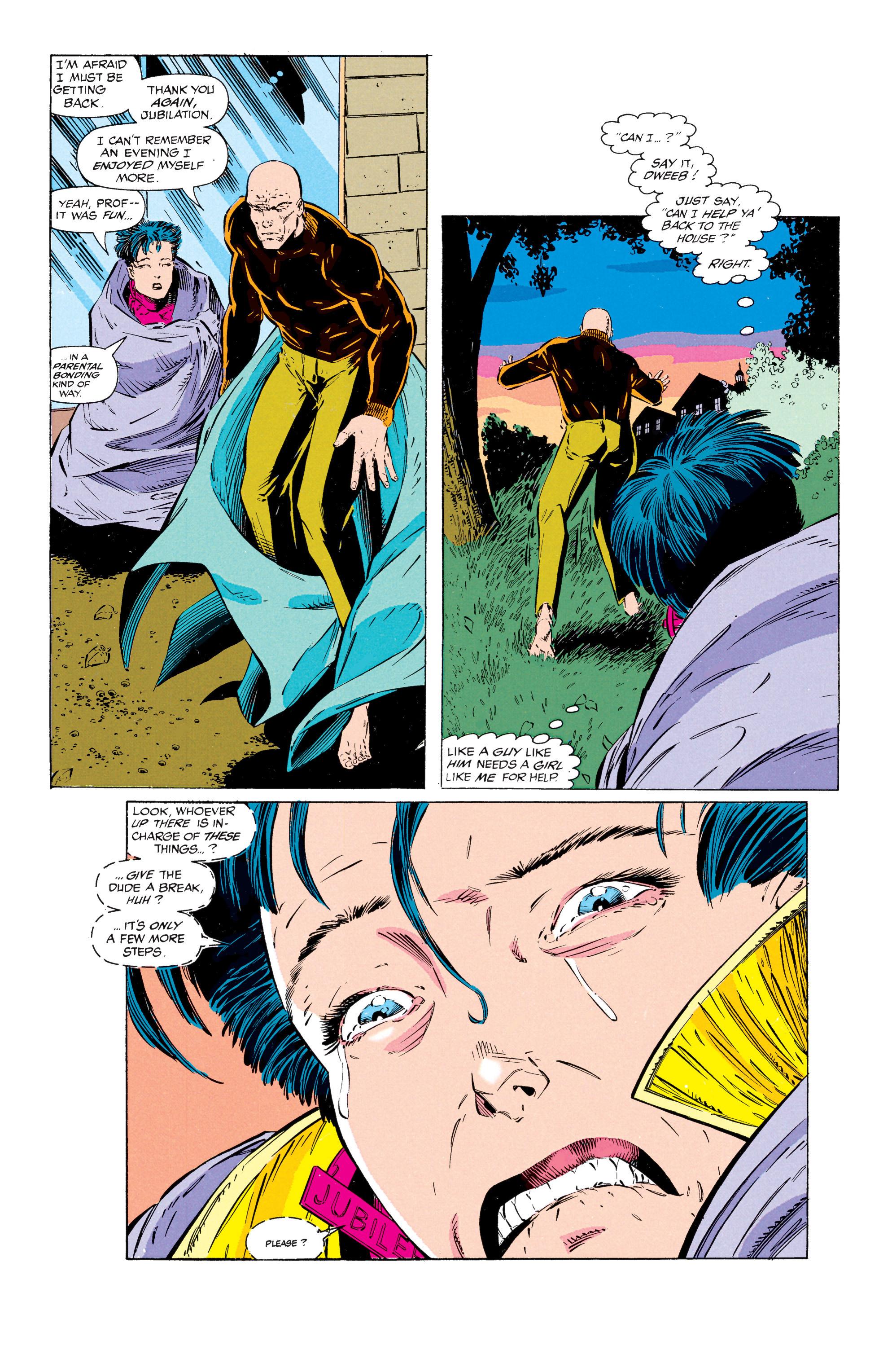 Read online Uncanny X-Men (1963) comic -  Issue #297 - 21