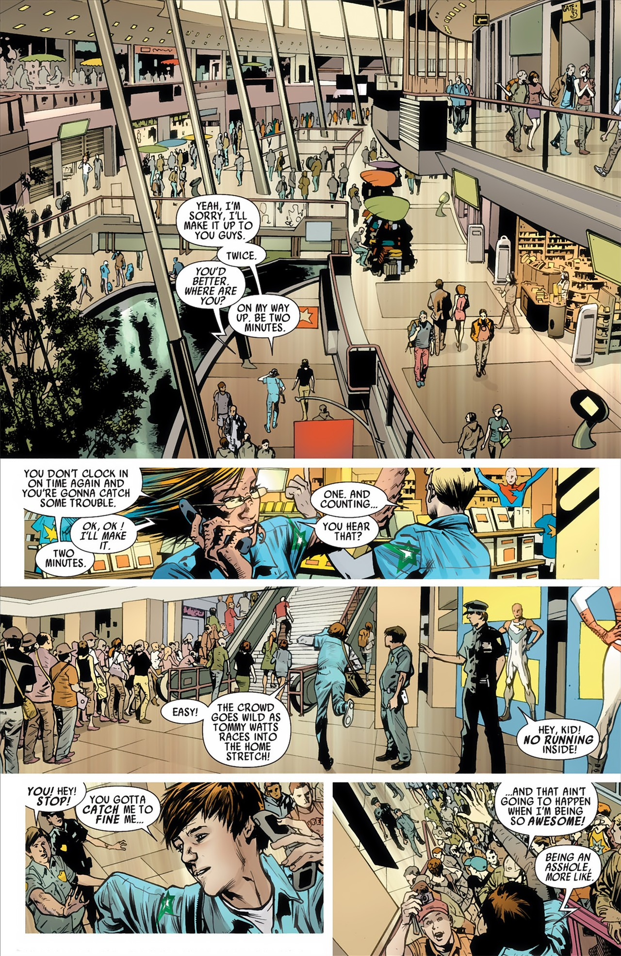Read online America's Got Powers comic -  Issue #2 - 11
