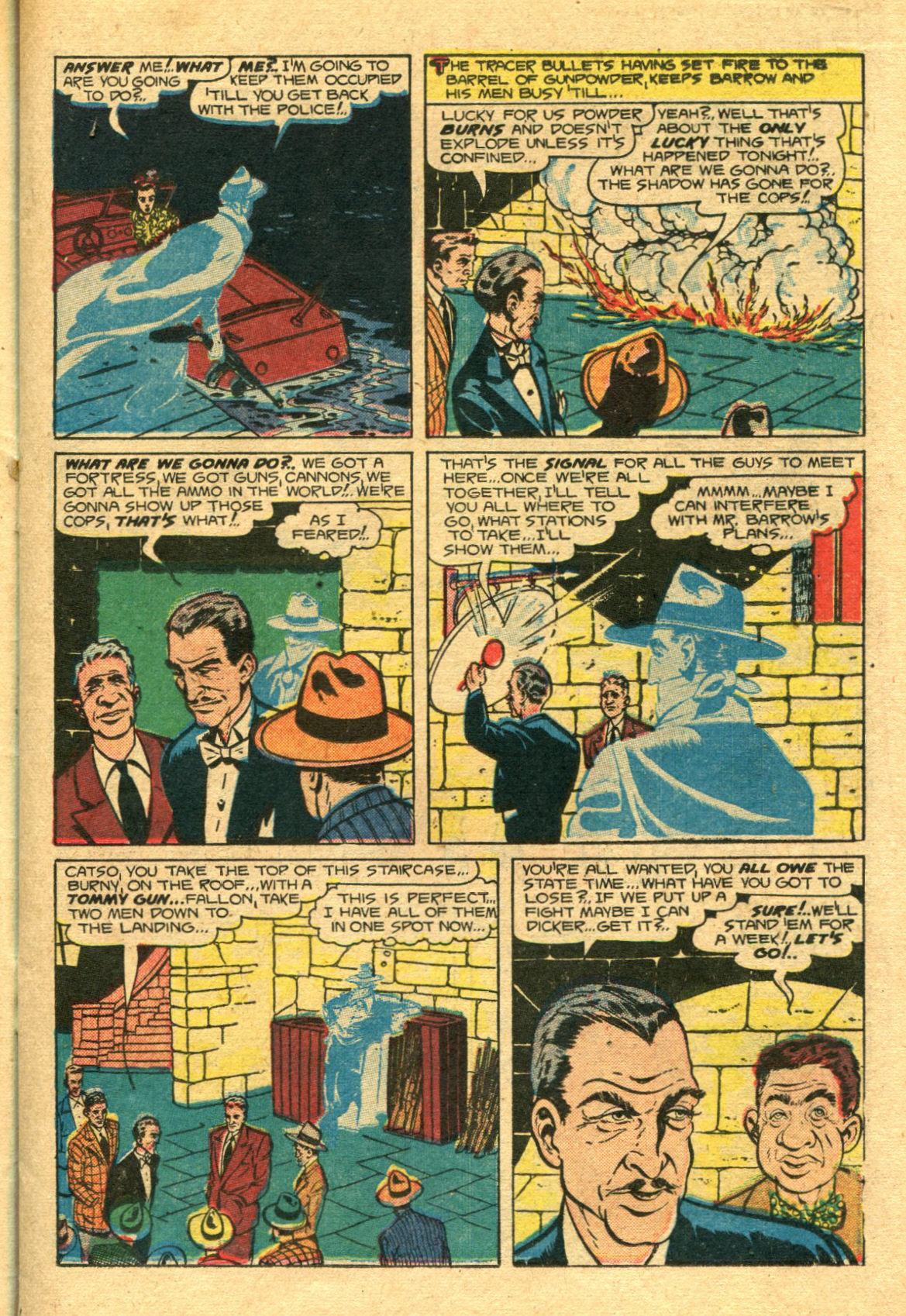 Read online Shadow Comics comic -  Issue #98 - 15