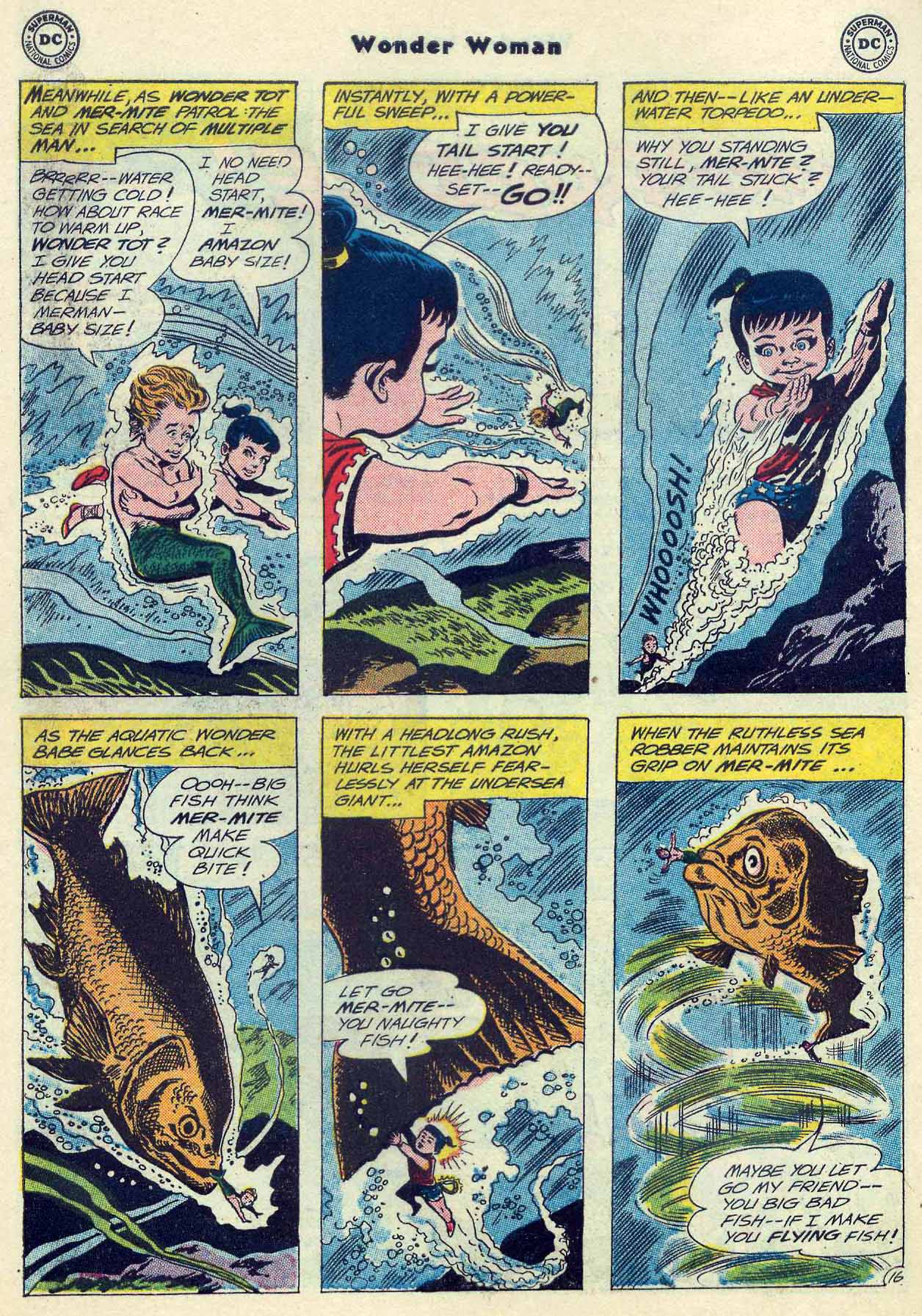 Read online Wonder Woman (1942) comic -  Issue #129 - 22