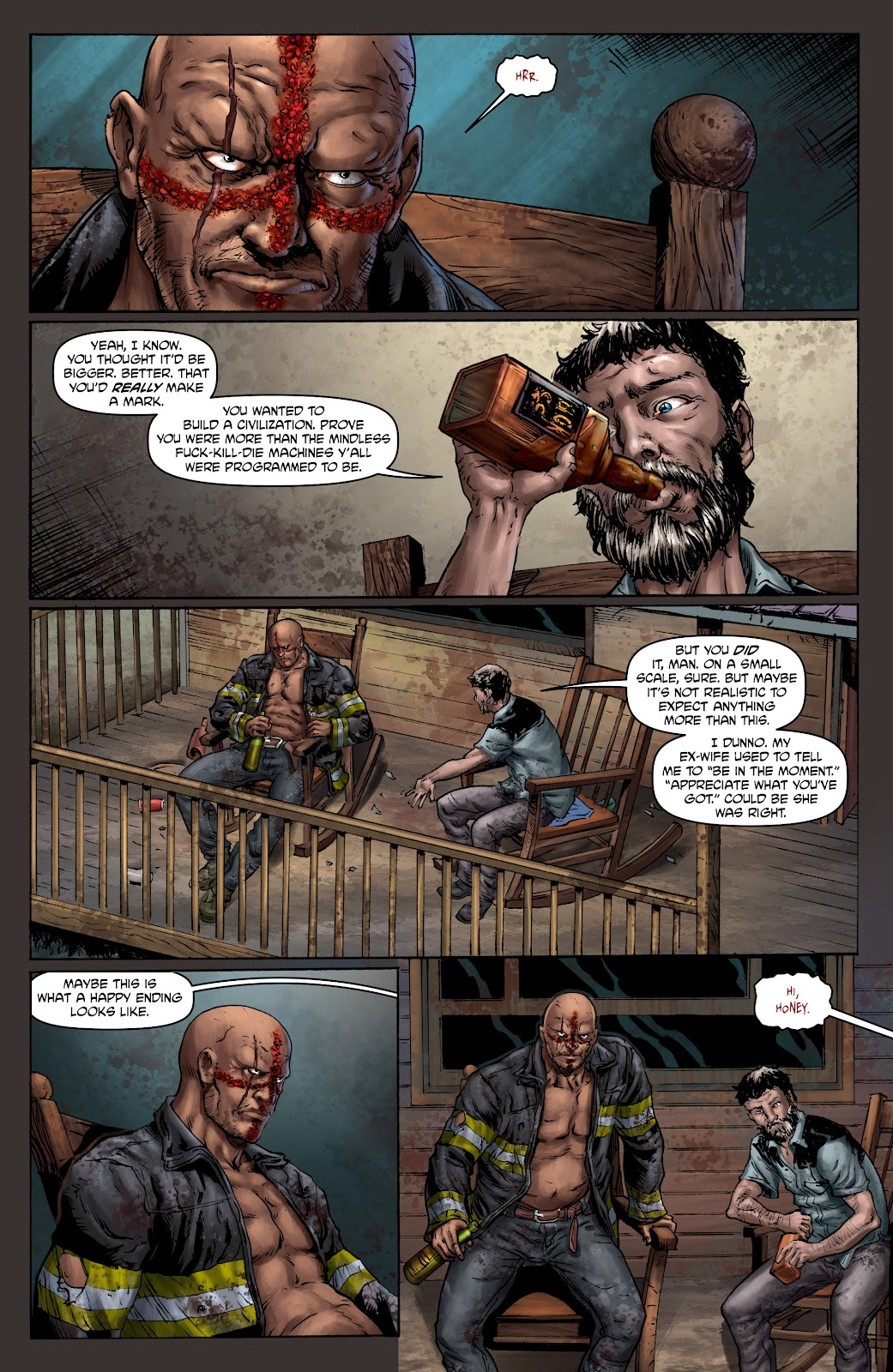 Crossed: Badlands issue 100 - Page 5