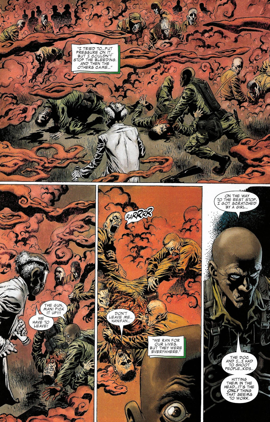 Read online Zombie (2006) comic -  Issue #2 - 4