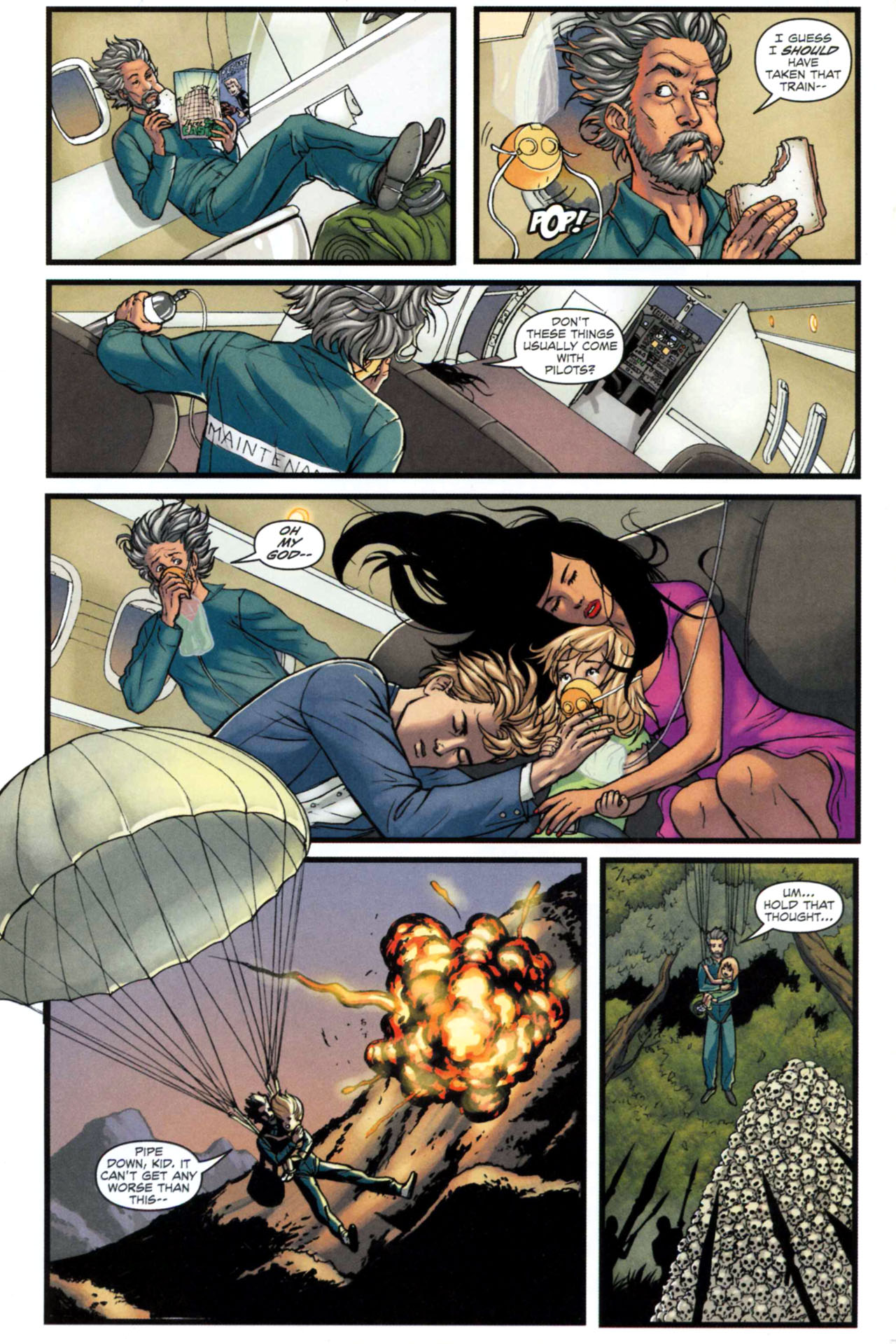 Read online Sheena, Queen of the Jungle comic -  Issue #5 - 4
