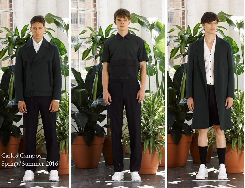 Inspection Report: Carlos Campos Spring/Summer 2016 Menswear Presentation