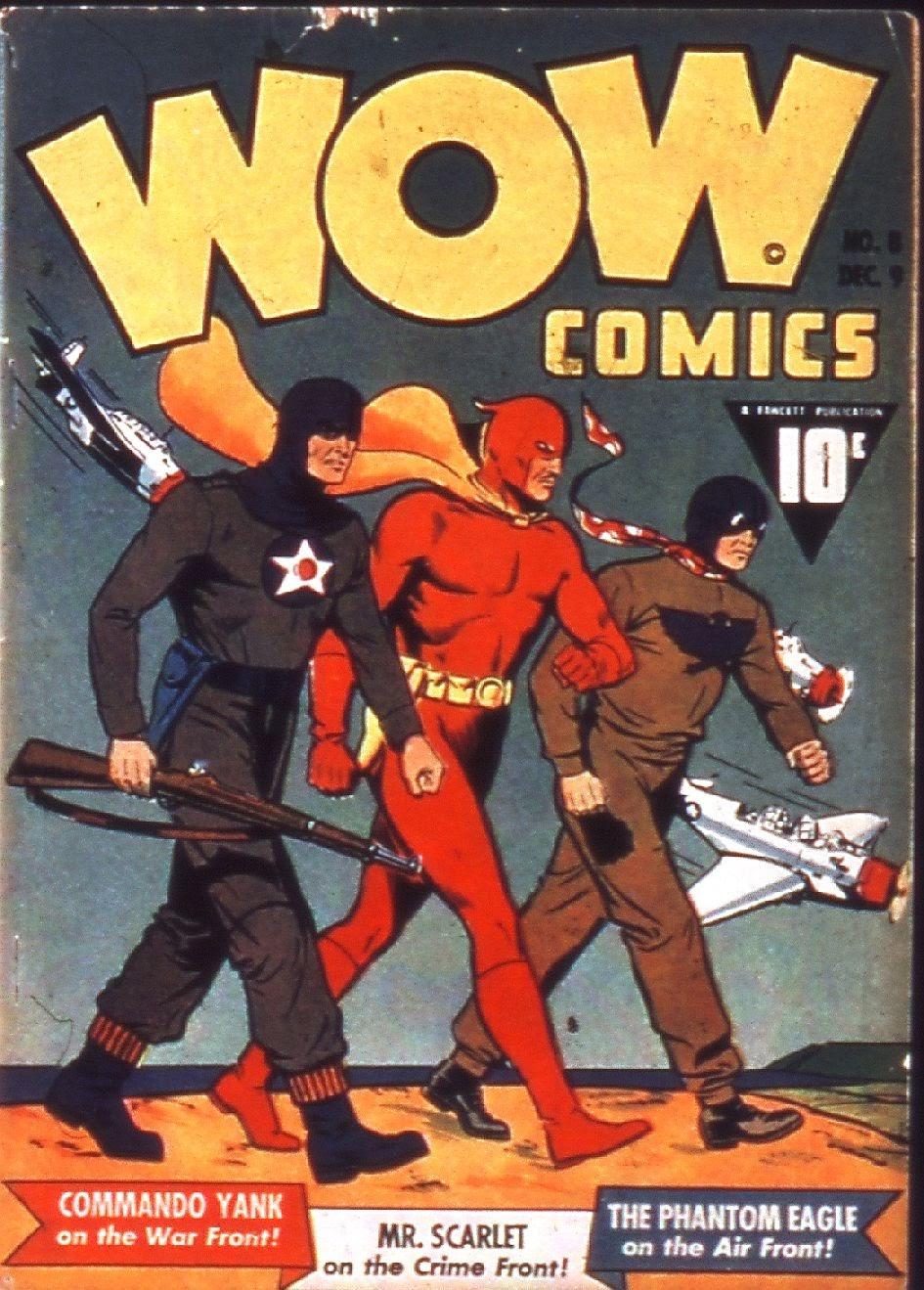 Wow Comics 8 Page 1