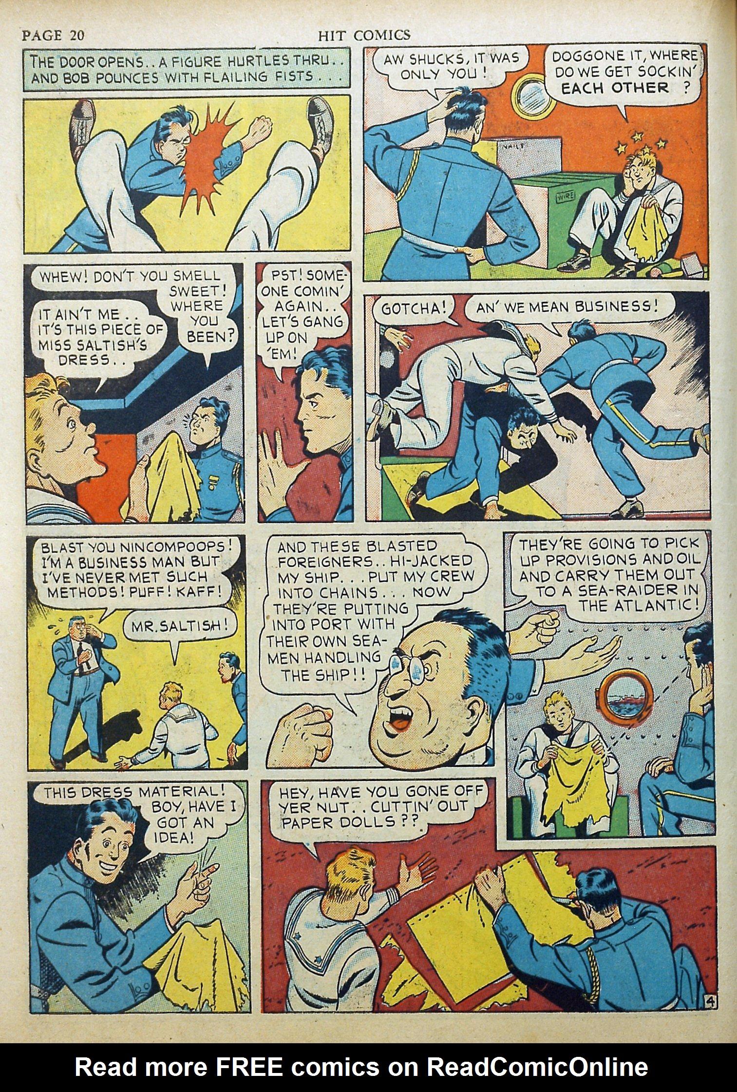 Read online Hit Comics comic -  Issue #17 - 22
